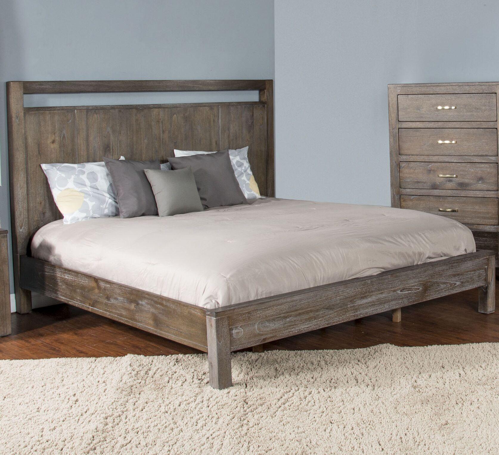 Cortney Platform Bed Size: King