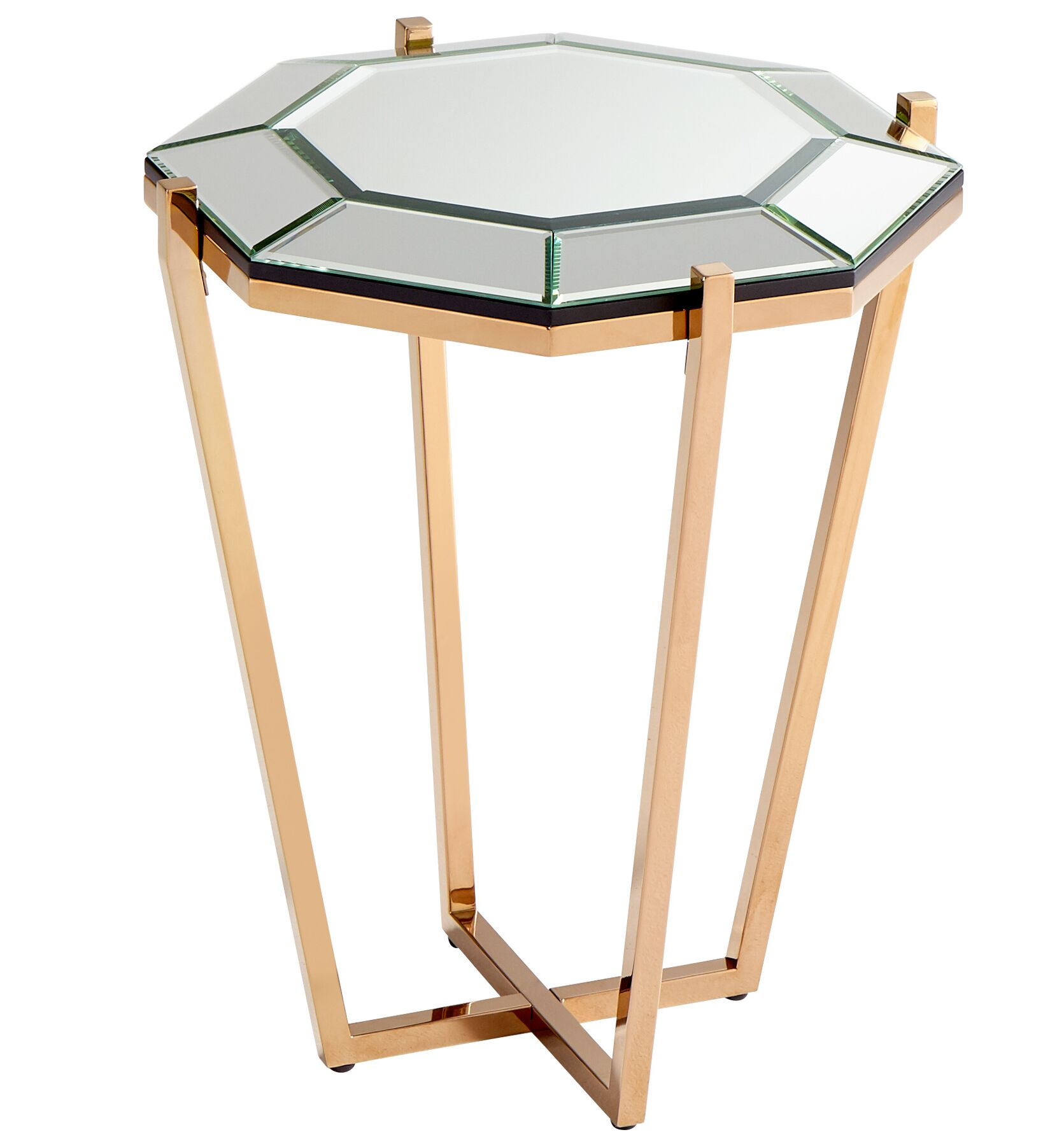 Elara End Table Color: Rose Gold