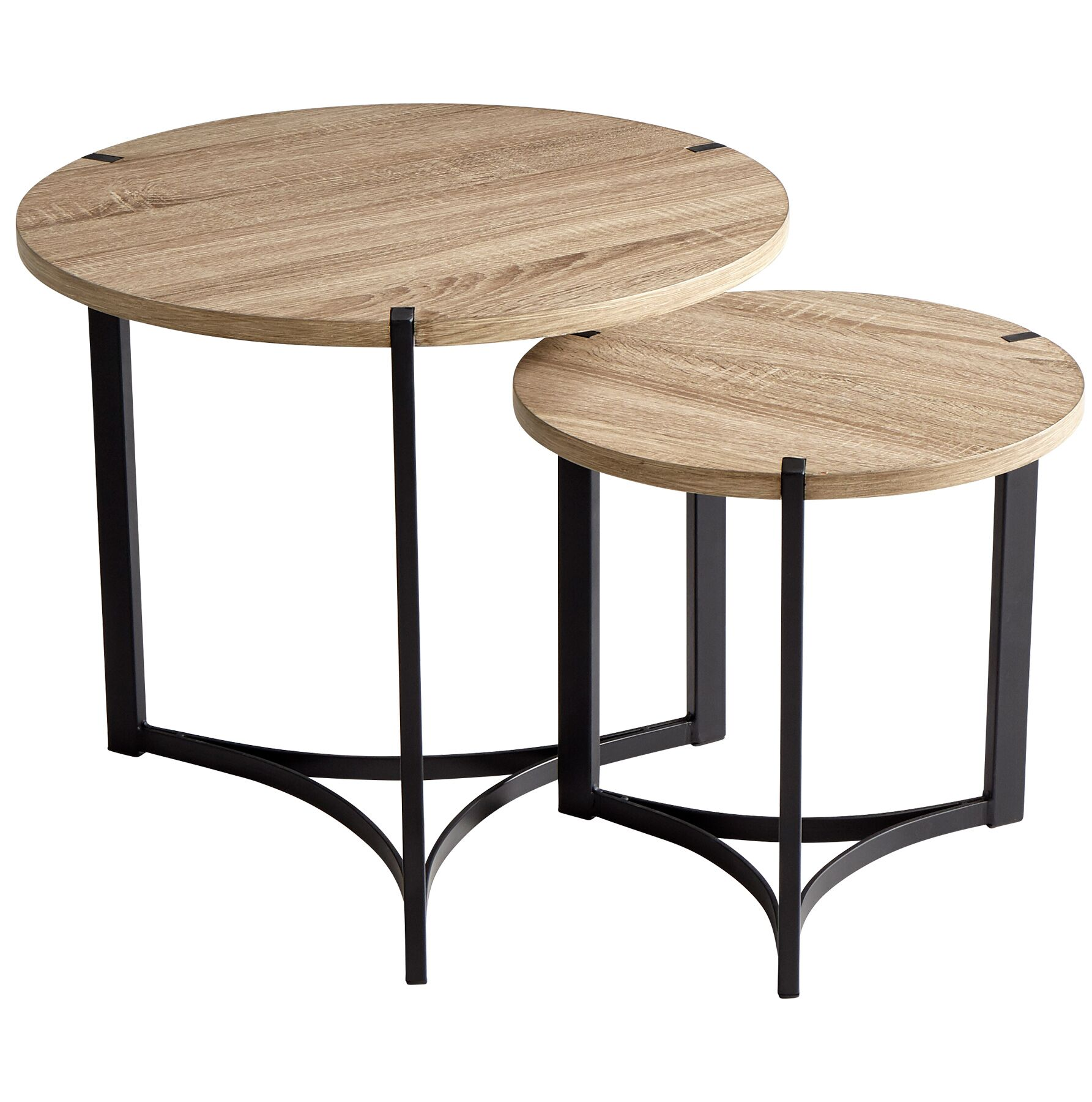 Tri 2 Piece Nesting Tables