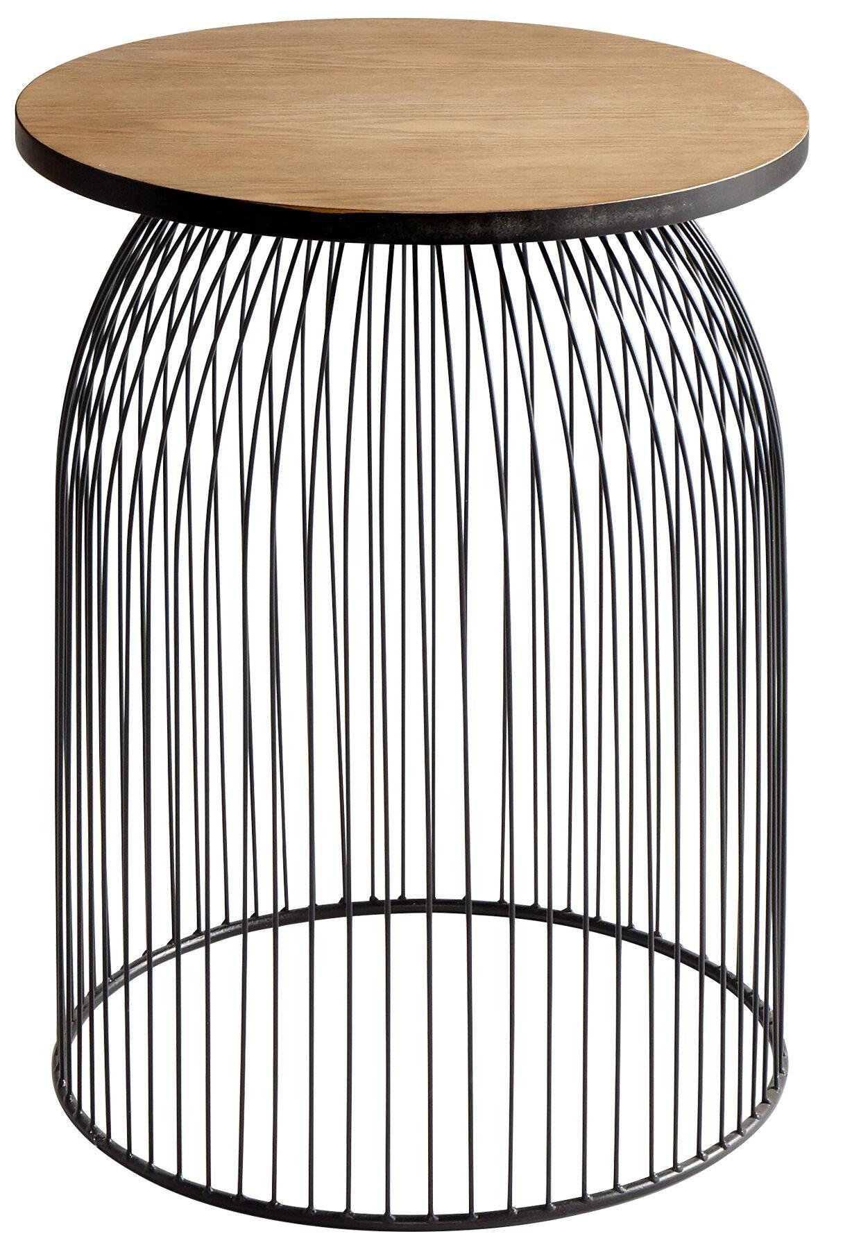 Bird Cage End Table