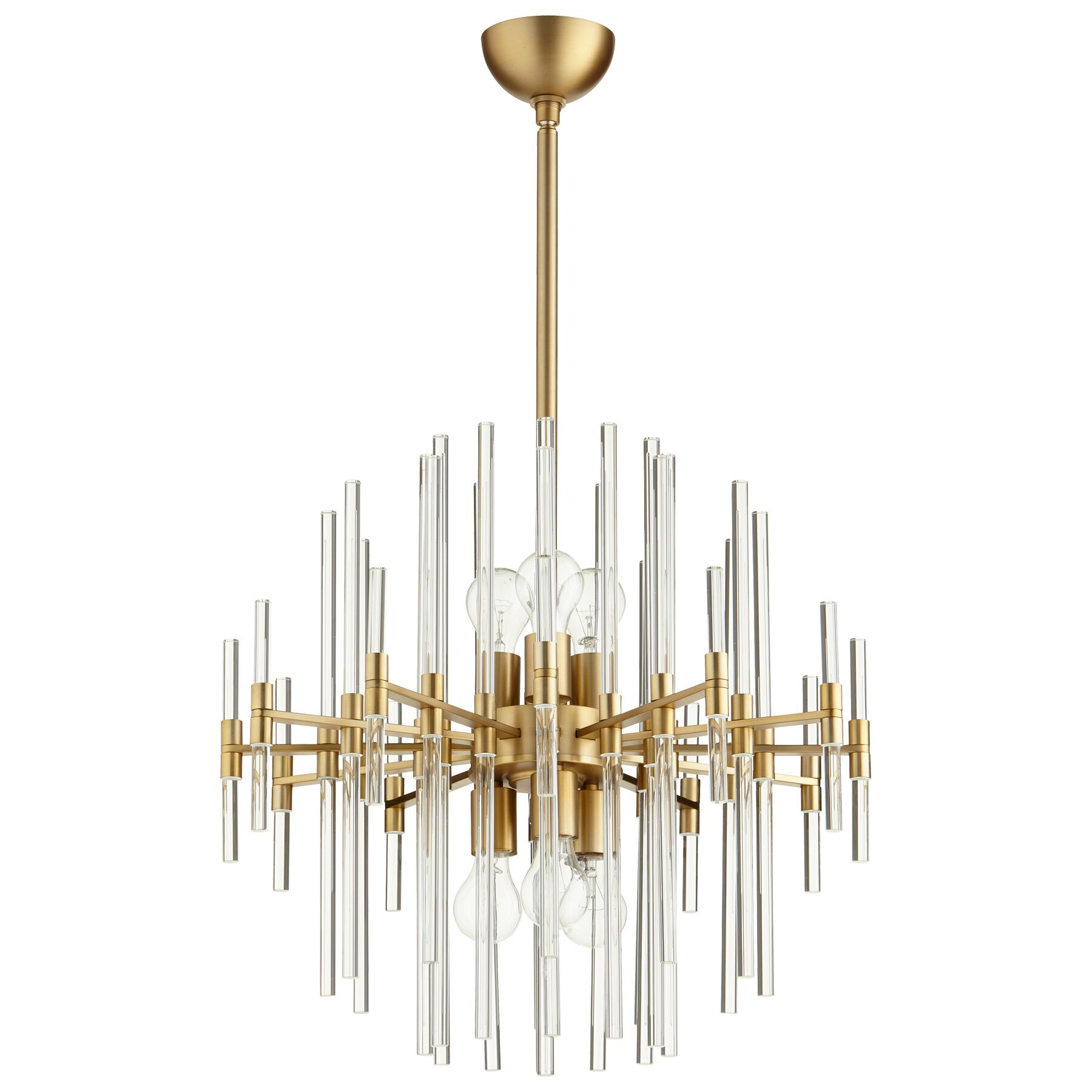 Quebec 6-Light Chandelier Size: 24.75