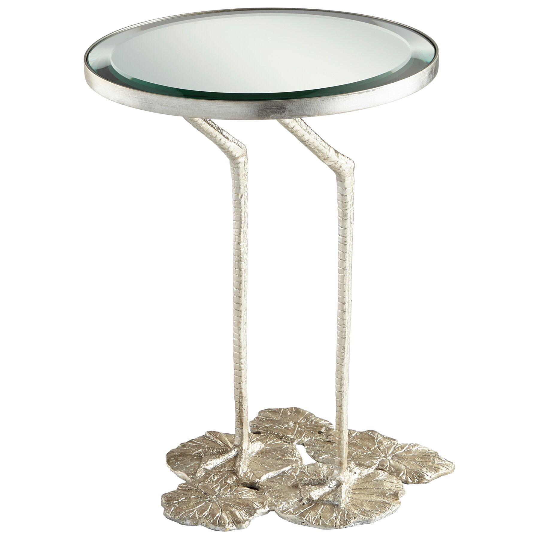 Struz End Table Base Color: Silver