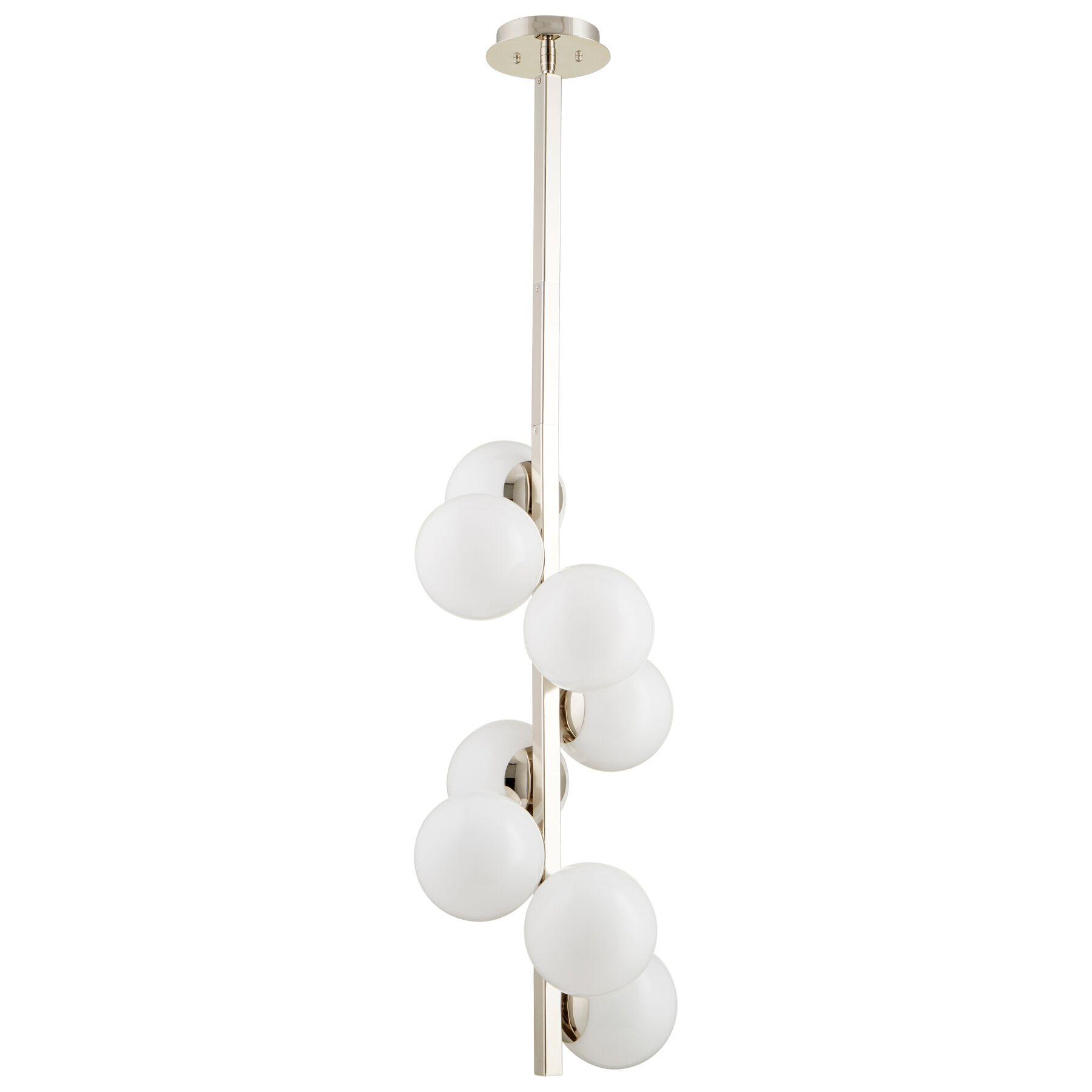 Atom 8-Light Sputnik Chandelier