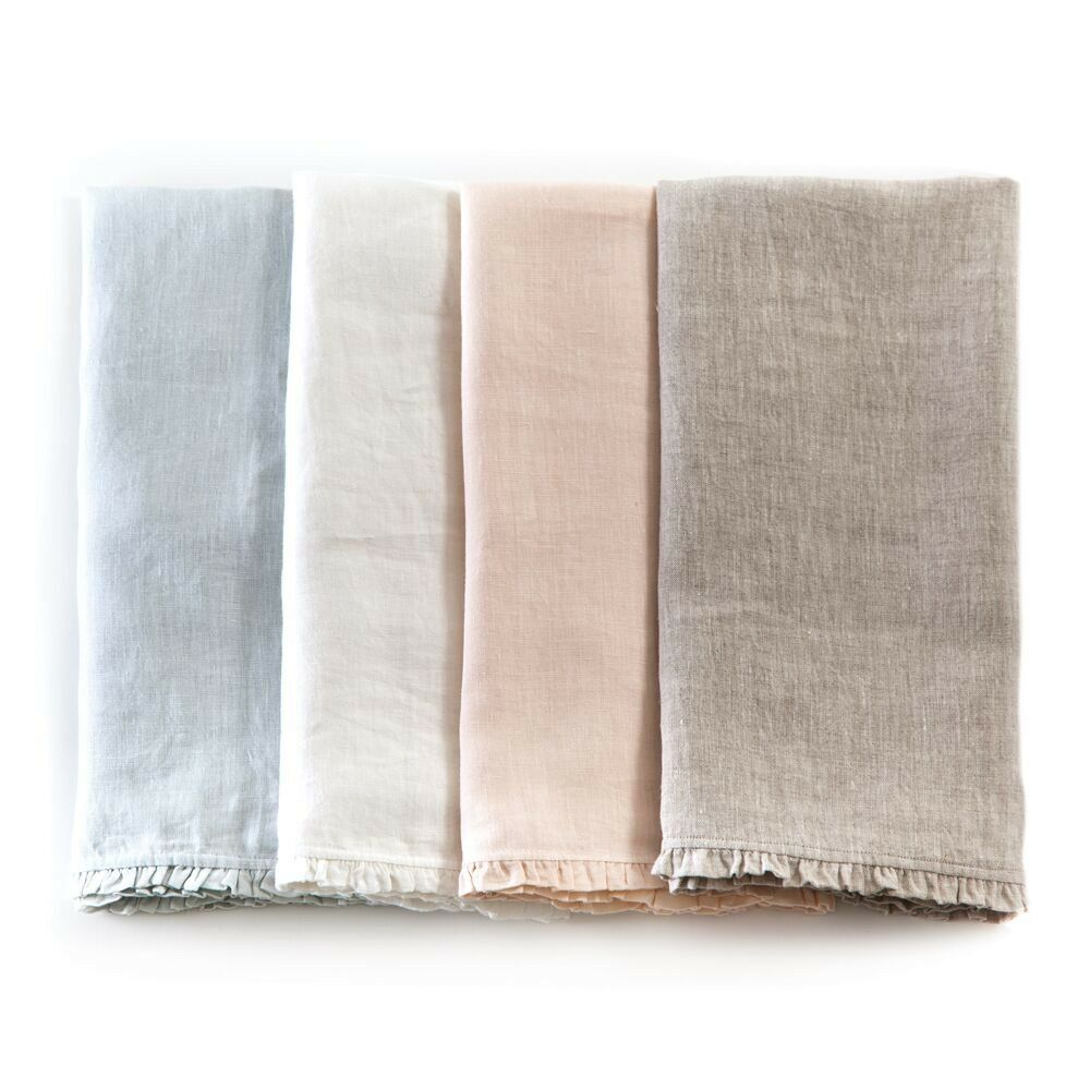 Charlie Pillow Case Color: White, Size: King