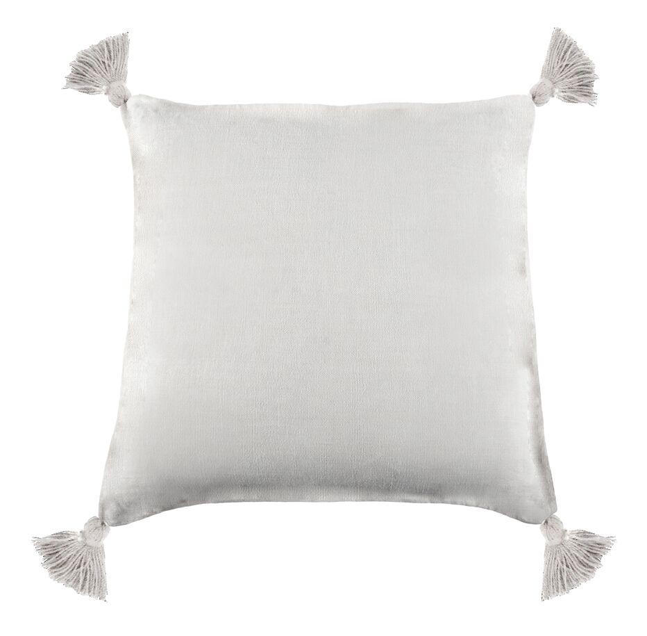Montauk Linen Throw Pillow Color: White
