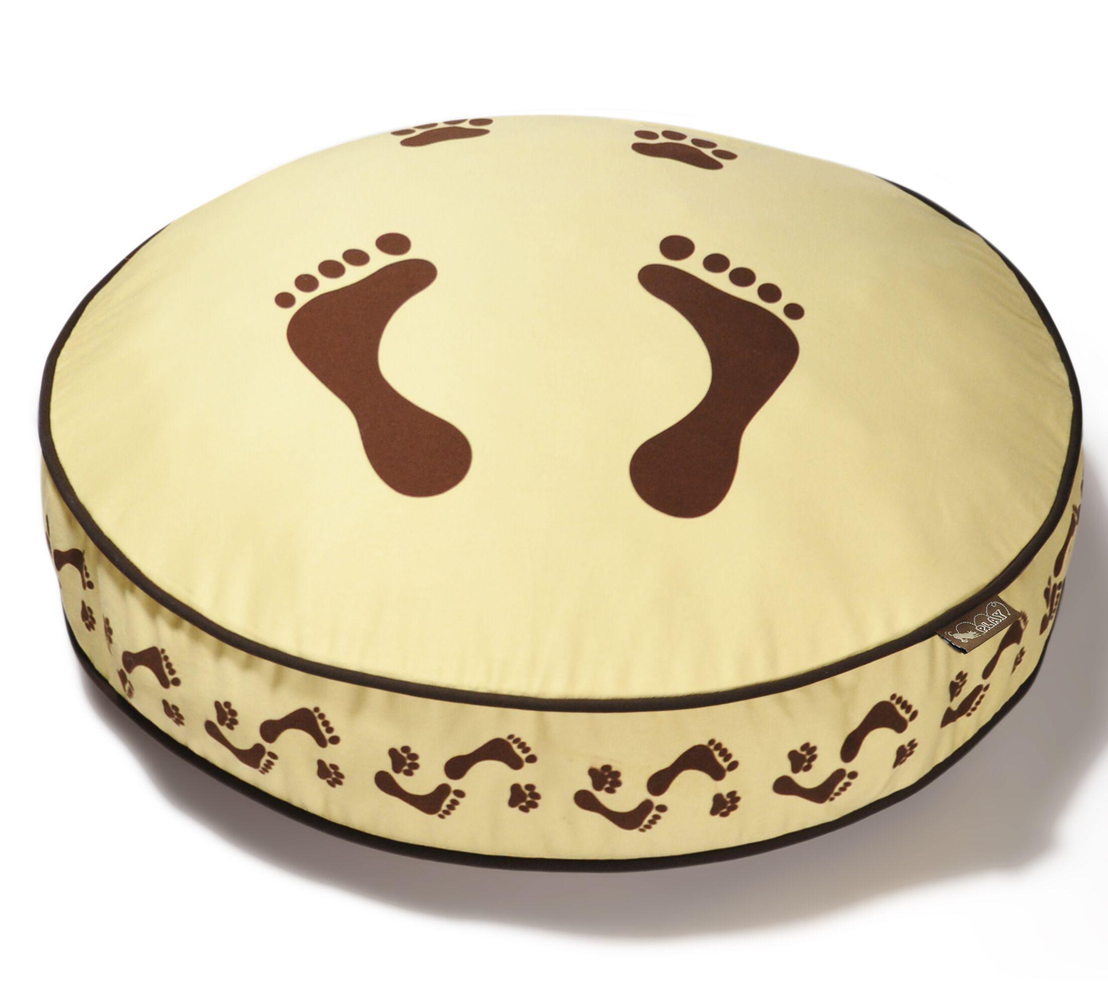 Utopian Footprints Round Change-a-Cover Size: Medium - 36