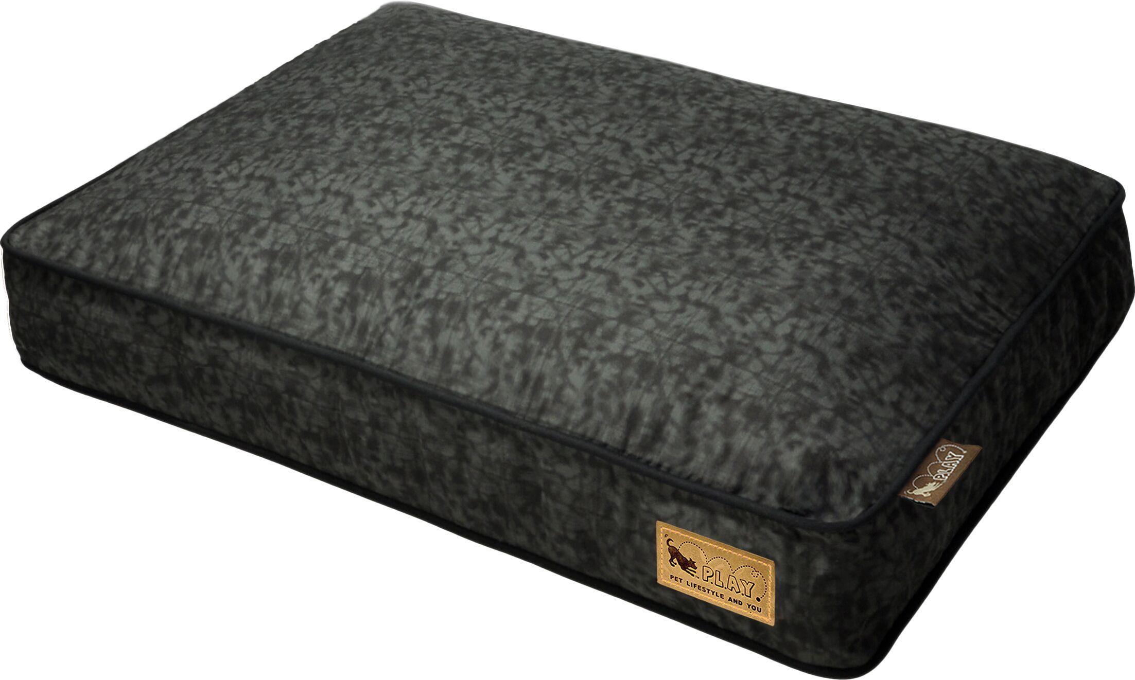 Backyard Frolic Rectangular Dog Pillow Size: Medium (36