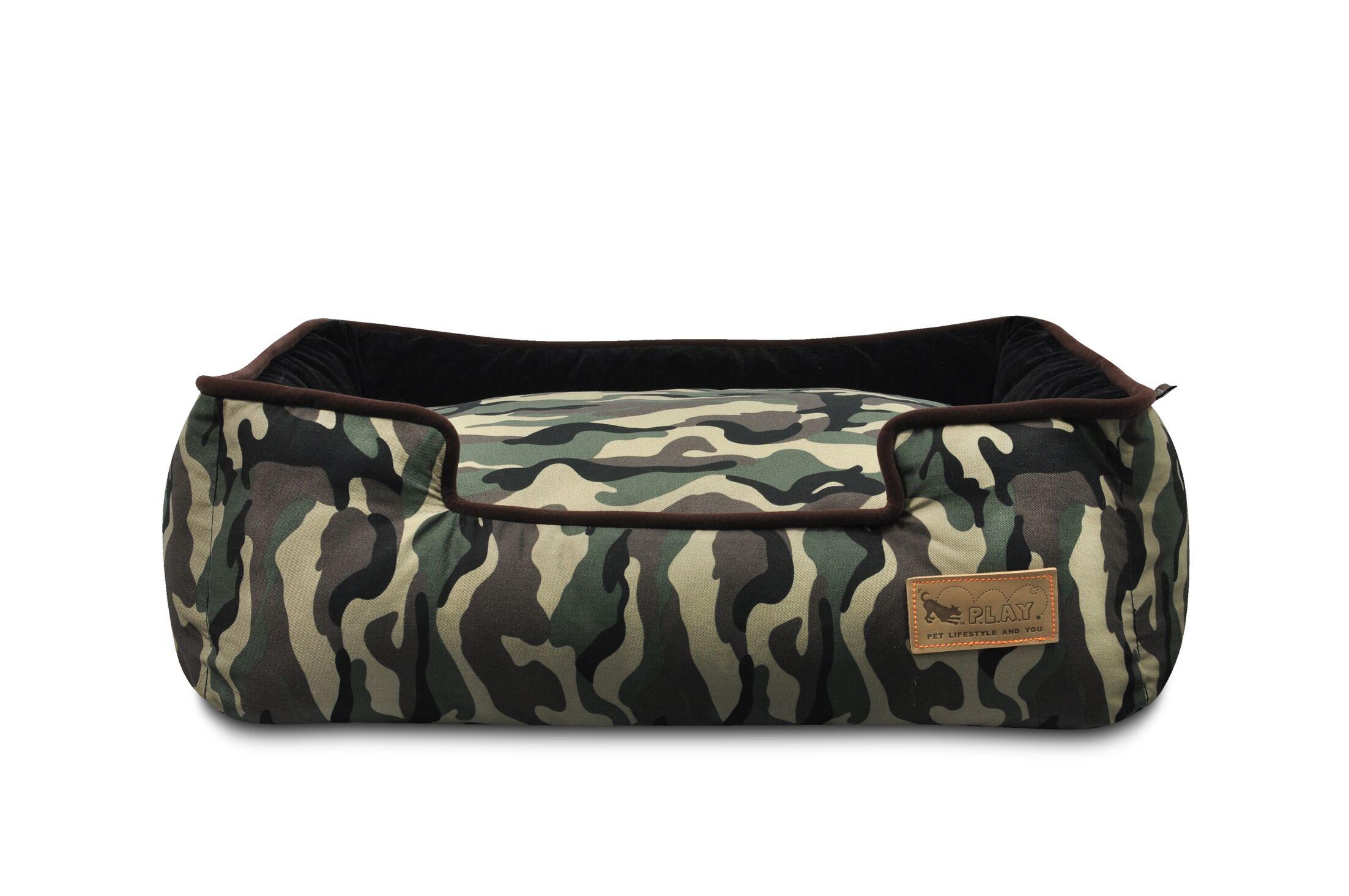 Original Camouflage Lounge Dog Sofa Size: Medium (31