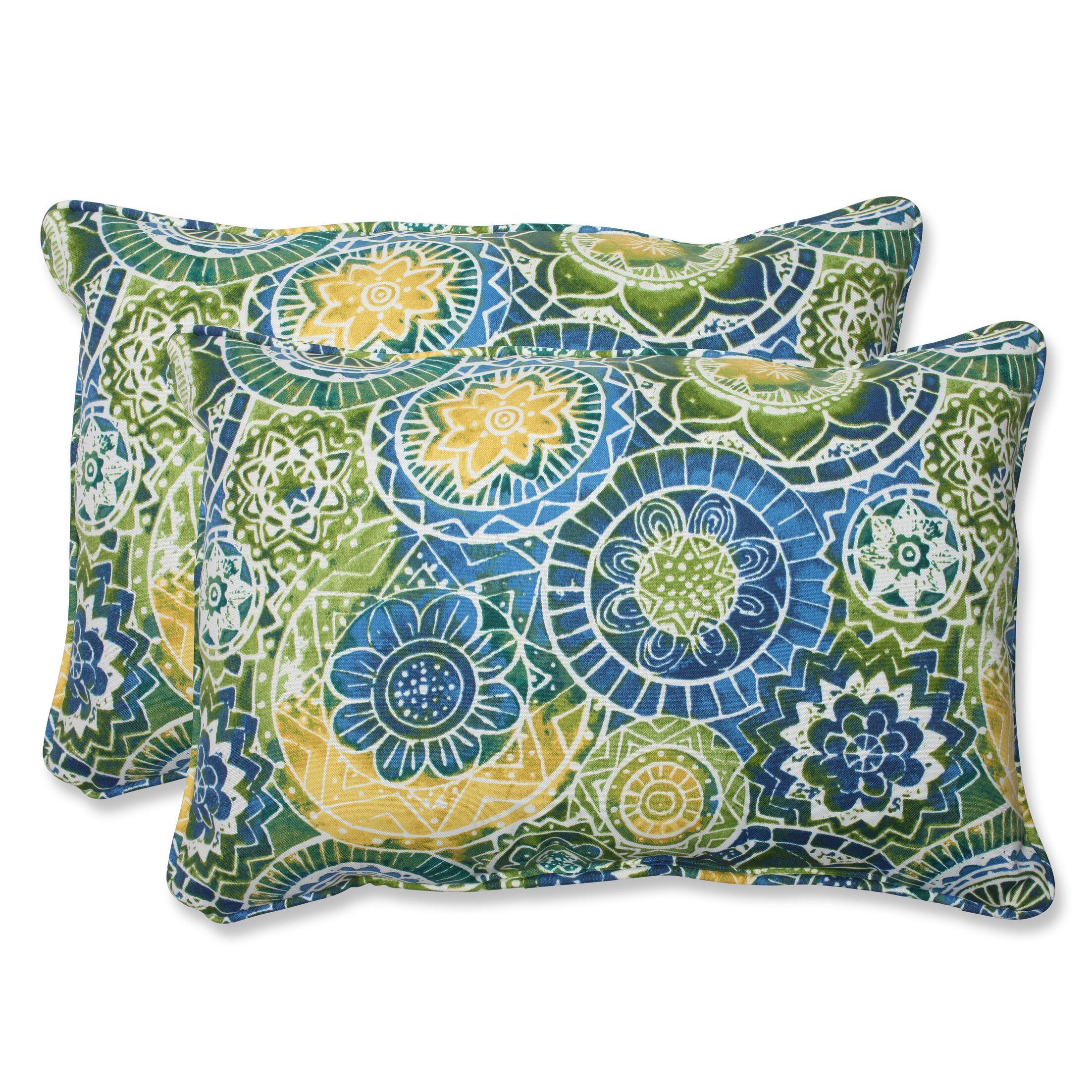 Omnia Indoor/Outdoor Throw Pillow Size: 16.5