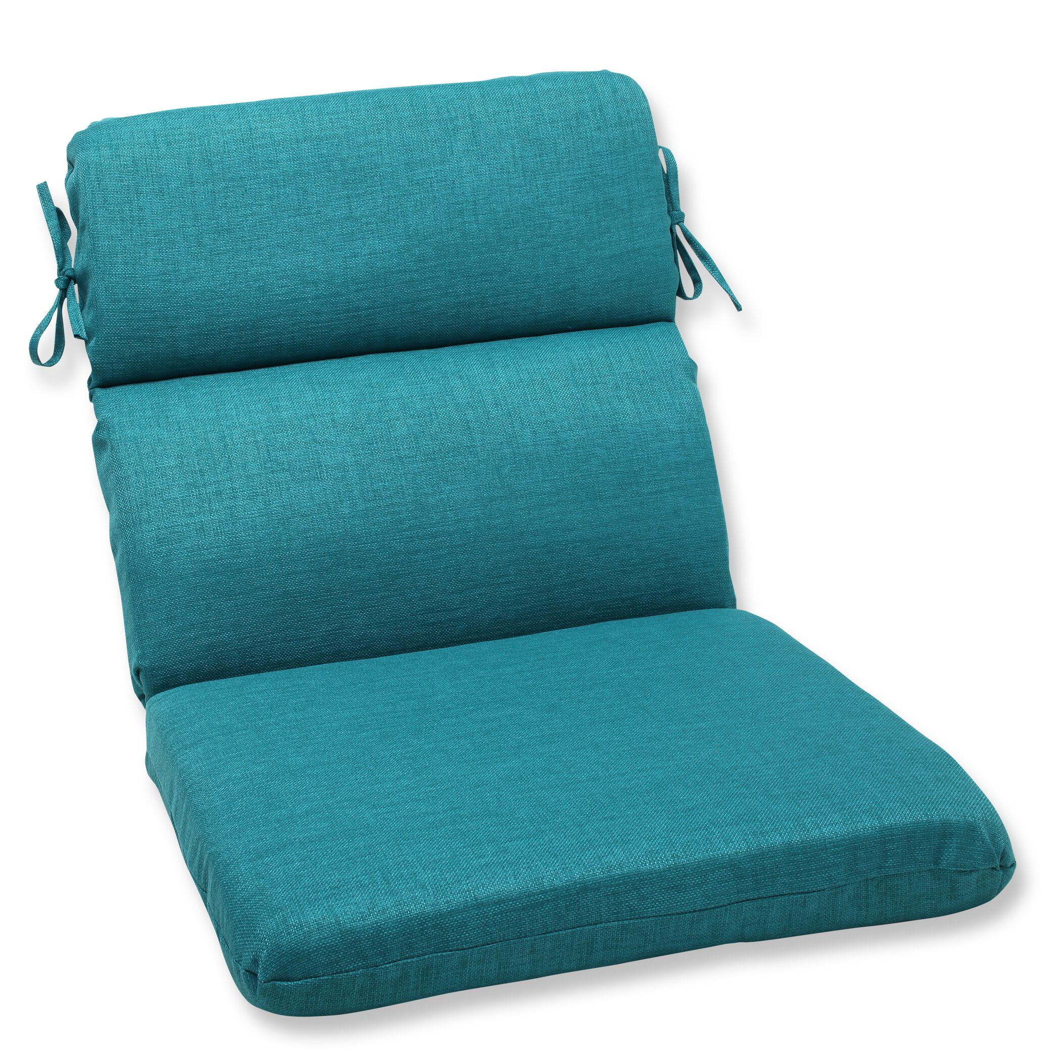 Rave Indoor/Outdoor Lounge Chair Cushion Fabric: Teal