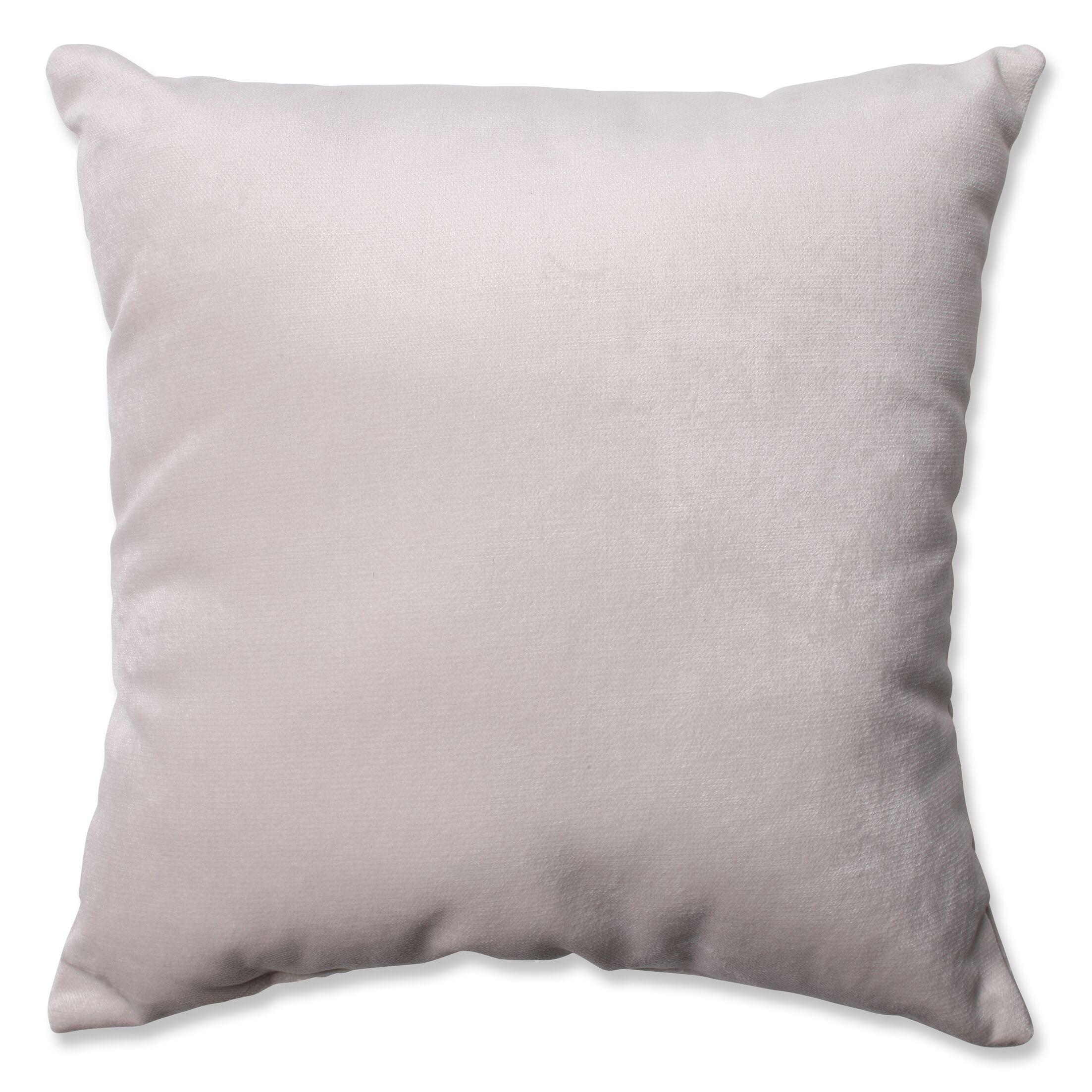 Belvedere Throw Pillow Size: 18