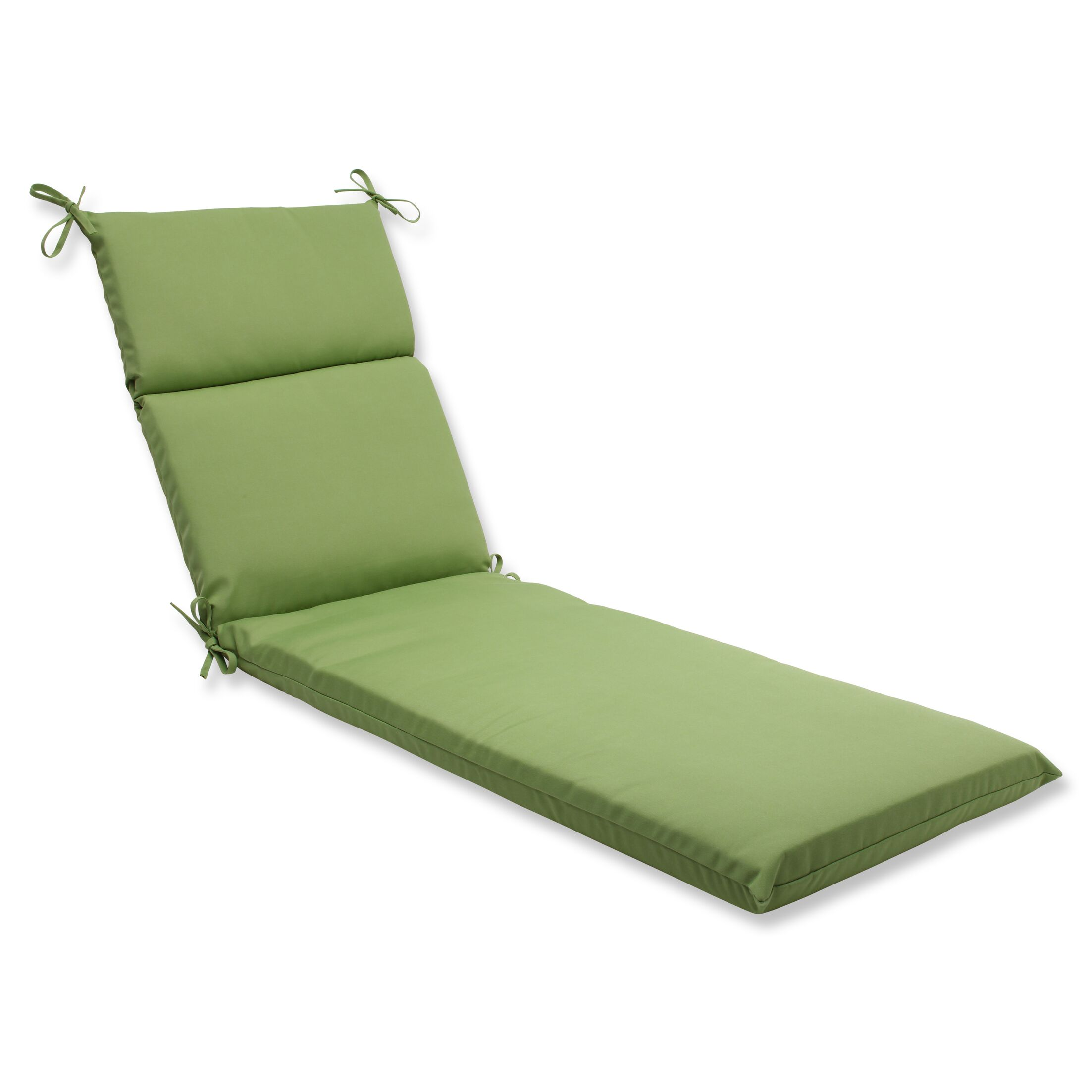 Canvas Indoor/Outdoor Chaise Lounge Cushion Fabric: Ginko