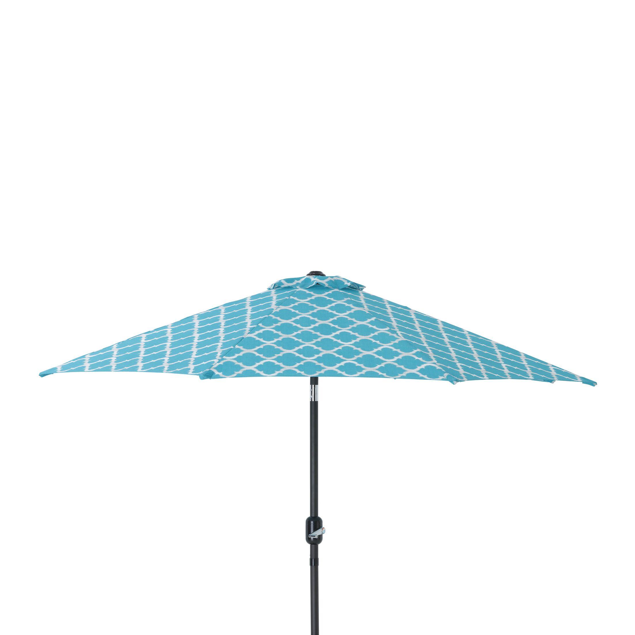 Kobette Teal 9' Market Umbrella Color: Teal