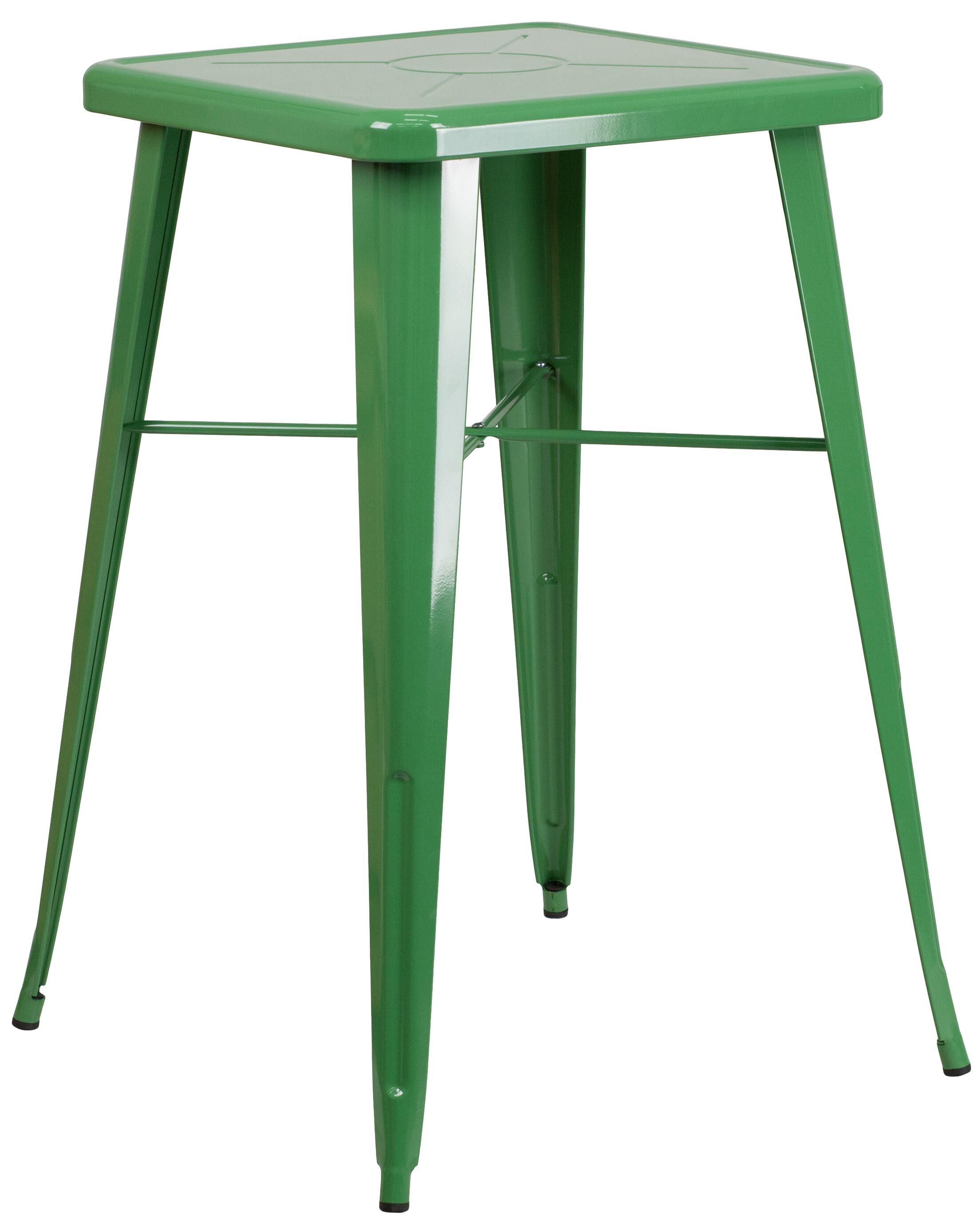 Elvin Bar Table Finish: Green