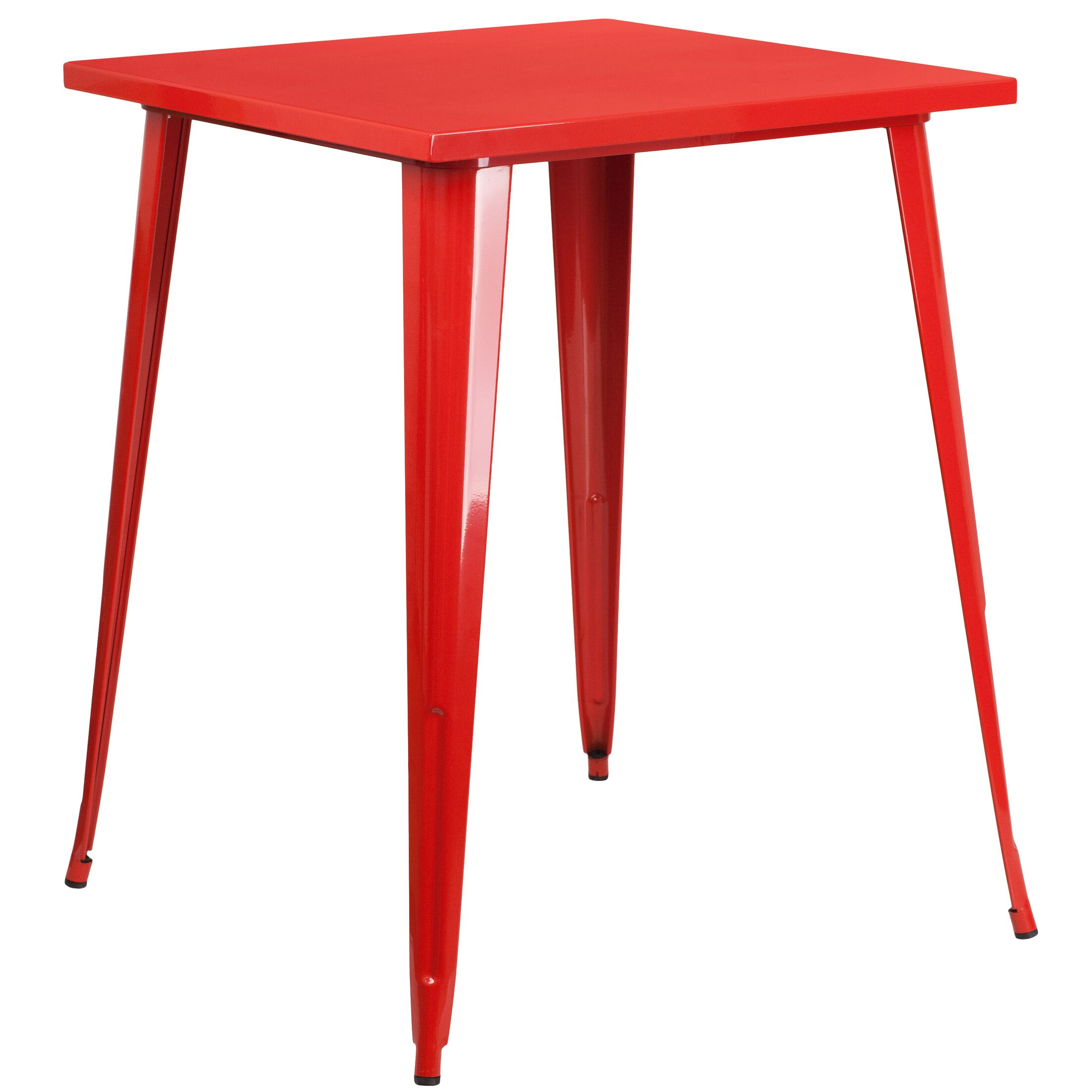 Brendle Bar Table Finish: Red