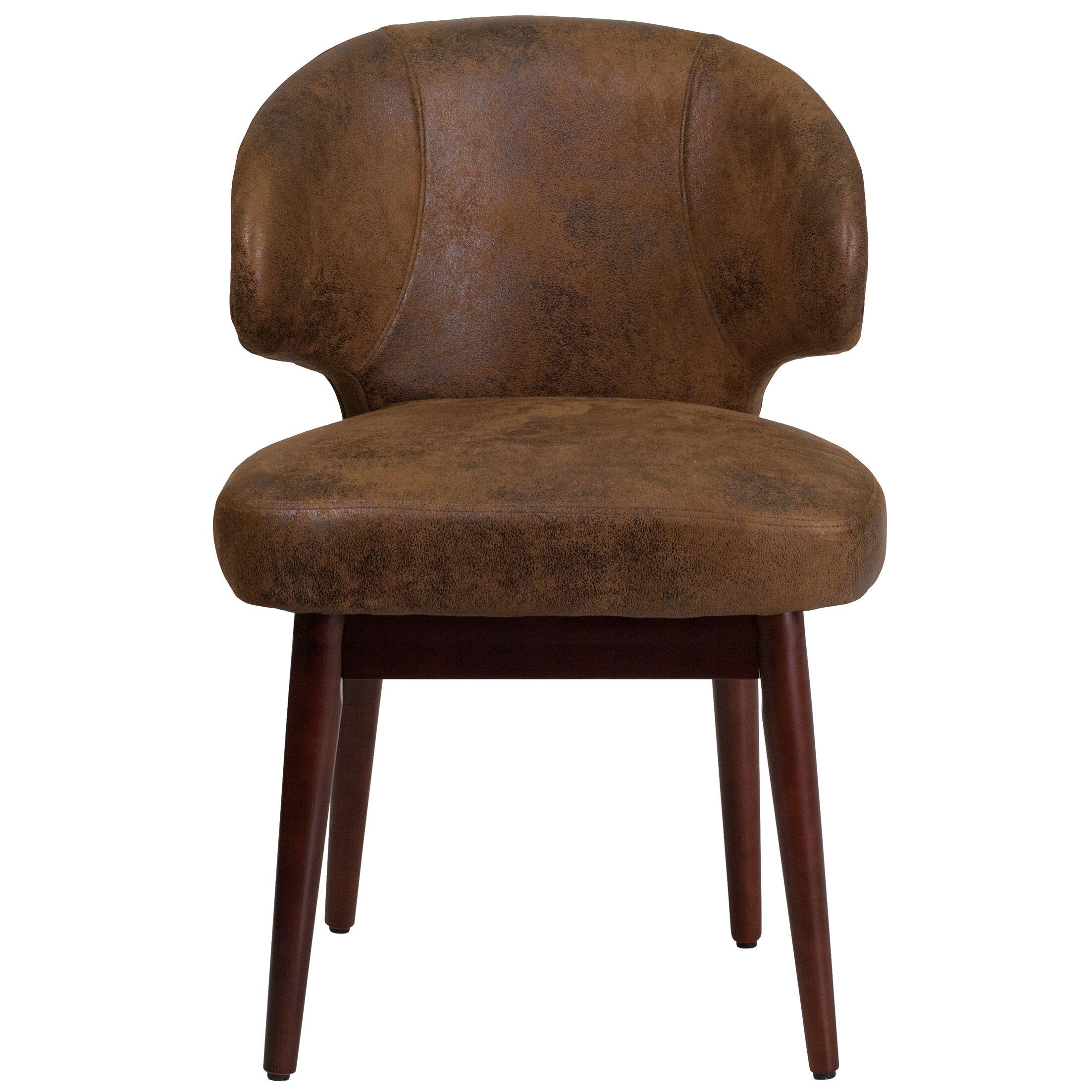 Antonietta Microfiber Reception Guest Chair