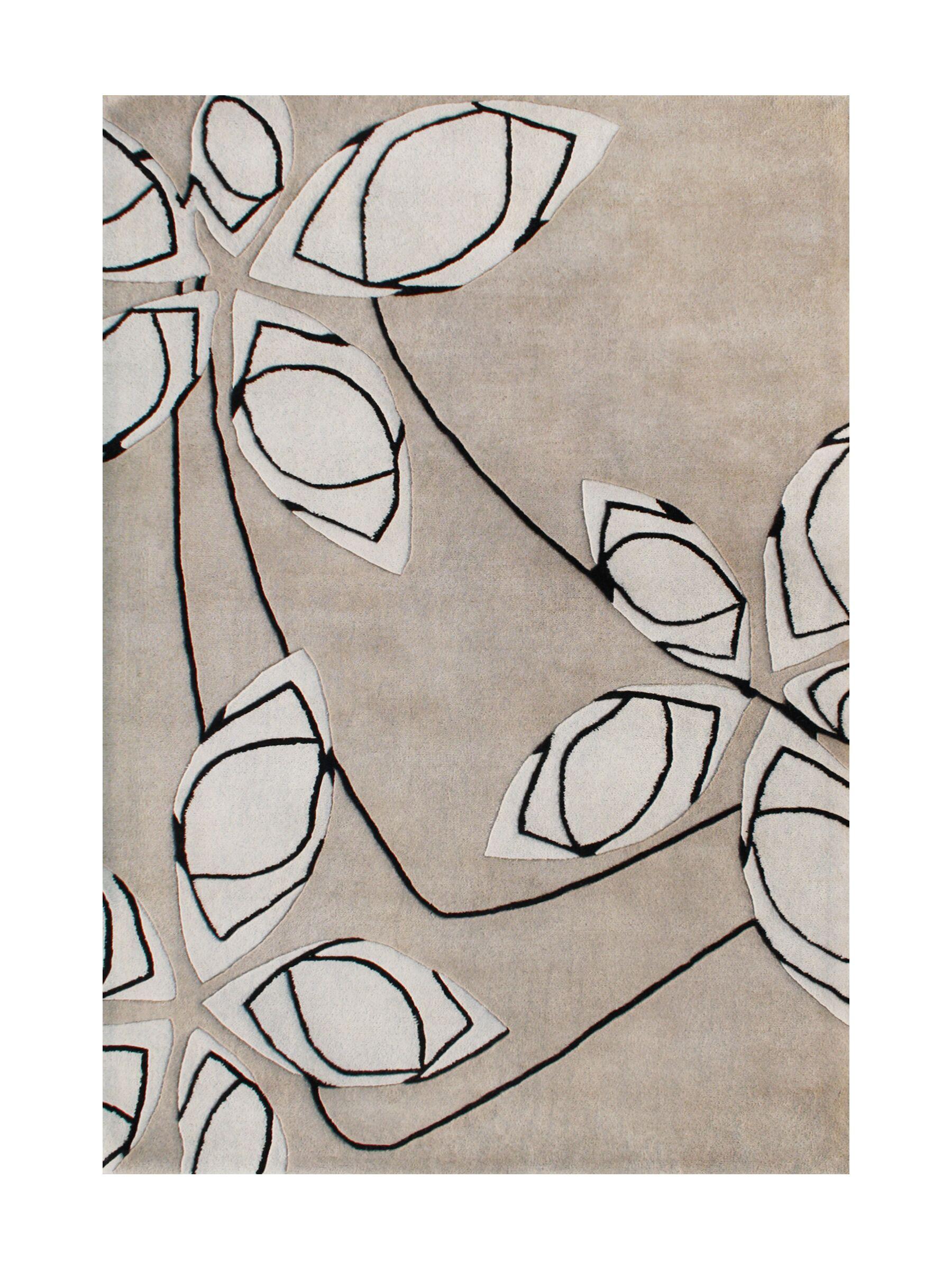 New Zealand Handmade Cuban Sand Area Rug Rug Size: Rectangle 9' x 12'