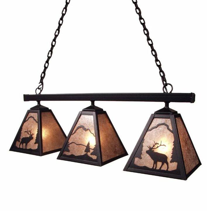 Elk 3-Light Kitchen Island Pendant