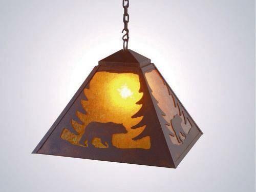 Bear 1-Light Dome Pendant Finish: Black, Shade / Lens: Khaki