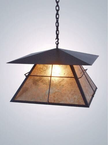 Lapaz 1-Light Lantern Pendant Finish: Architectural Bronze, Shade / Lens: Slag Glass Pretended