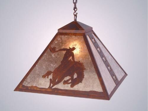 8 Seconds 1-Light Dome Pendant Finish: Rust, Shade / Lens: Amber Mica