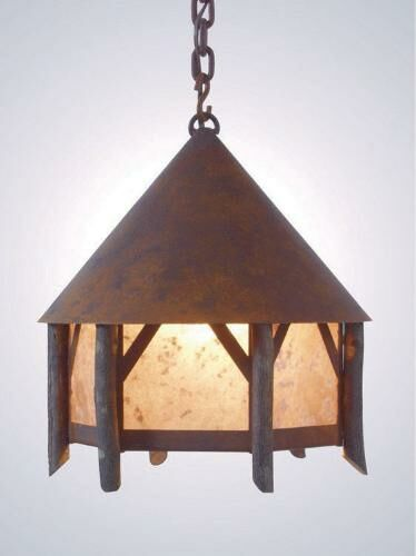 Campromise 1-Light Lantern Pendant Finish: Rust, Shade / Lens: Slag Glass Pretended