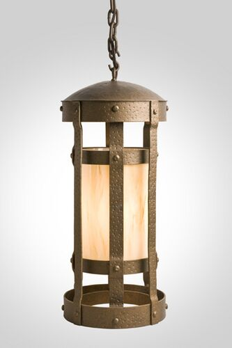 Duomo 1-Light Foyer Pendant Finish: Architectural Bronze, Shade / Lens: Bungalow Green