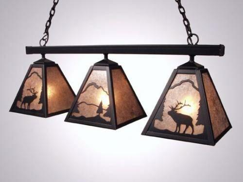 Elk Triple Anacosti Light Pendant Finish: Architectural Bronze, Shade / Lens: Khaki