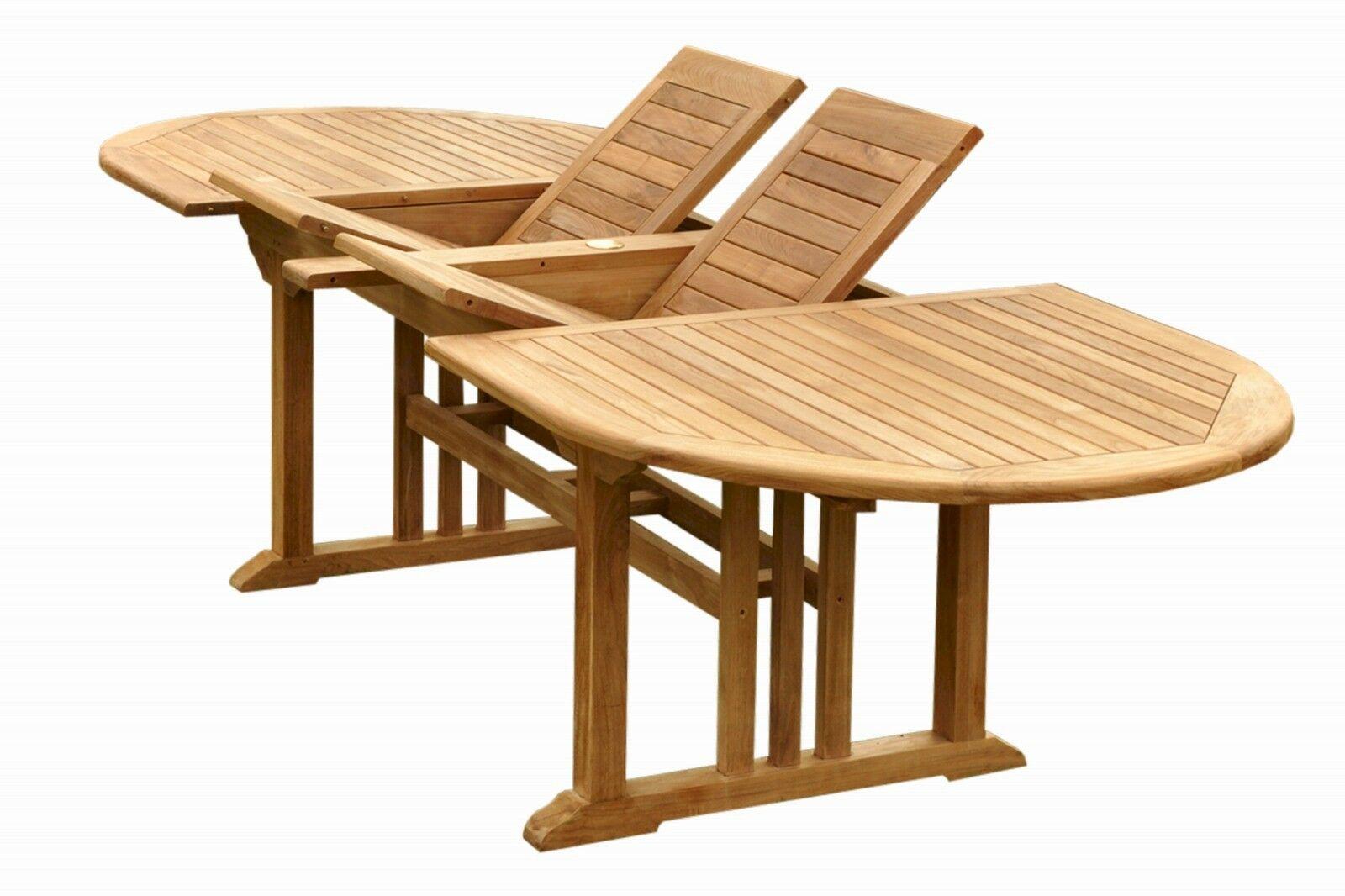 Sahara Extendable Teak Dining Table