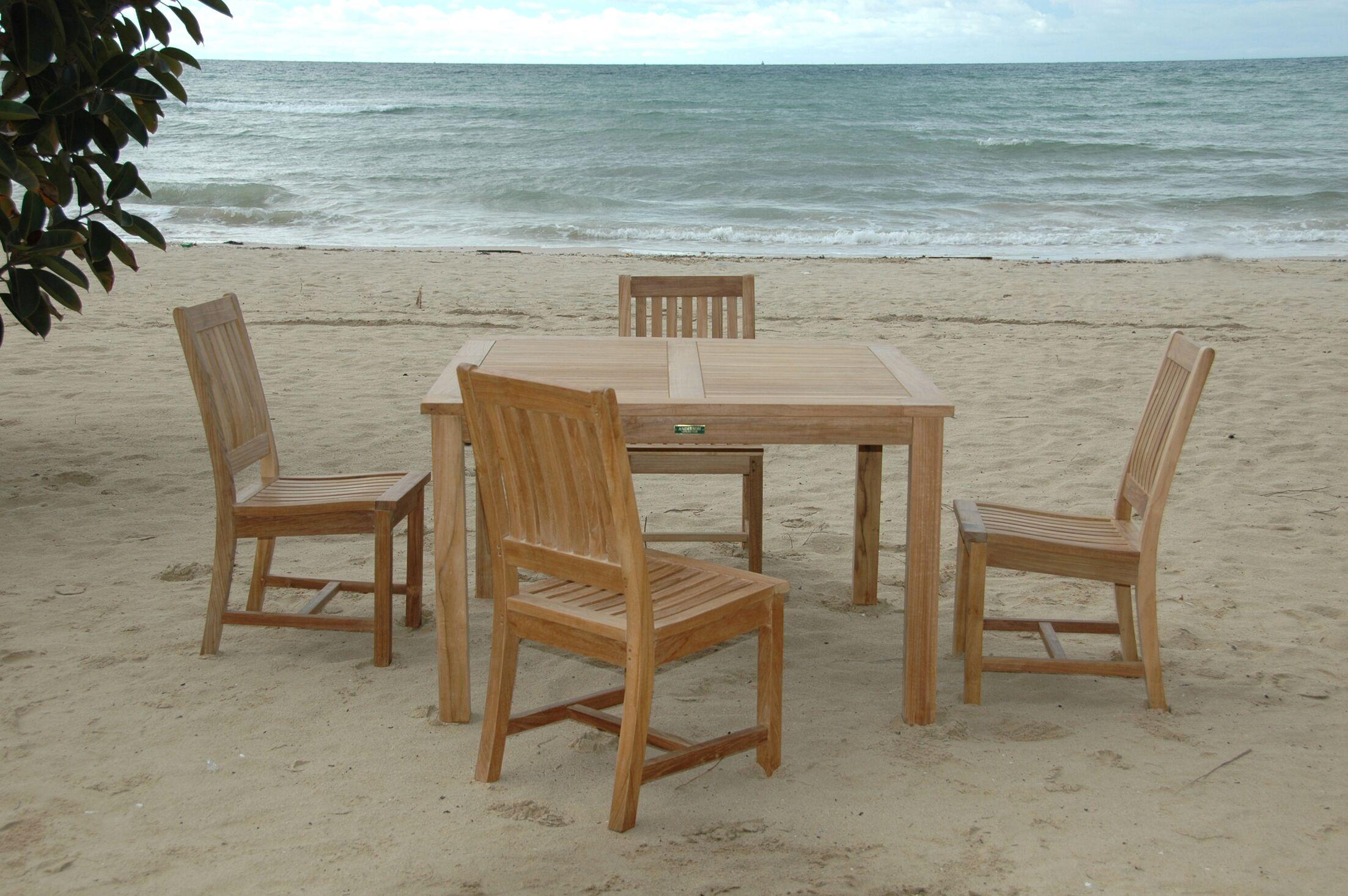Windsor 5 Piece Teak Dining Set