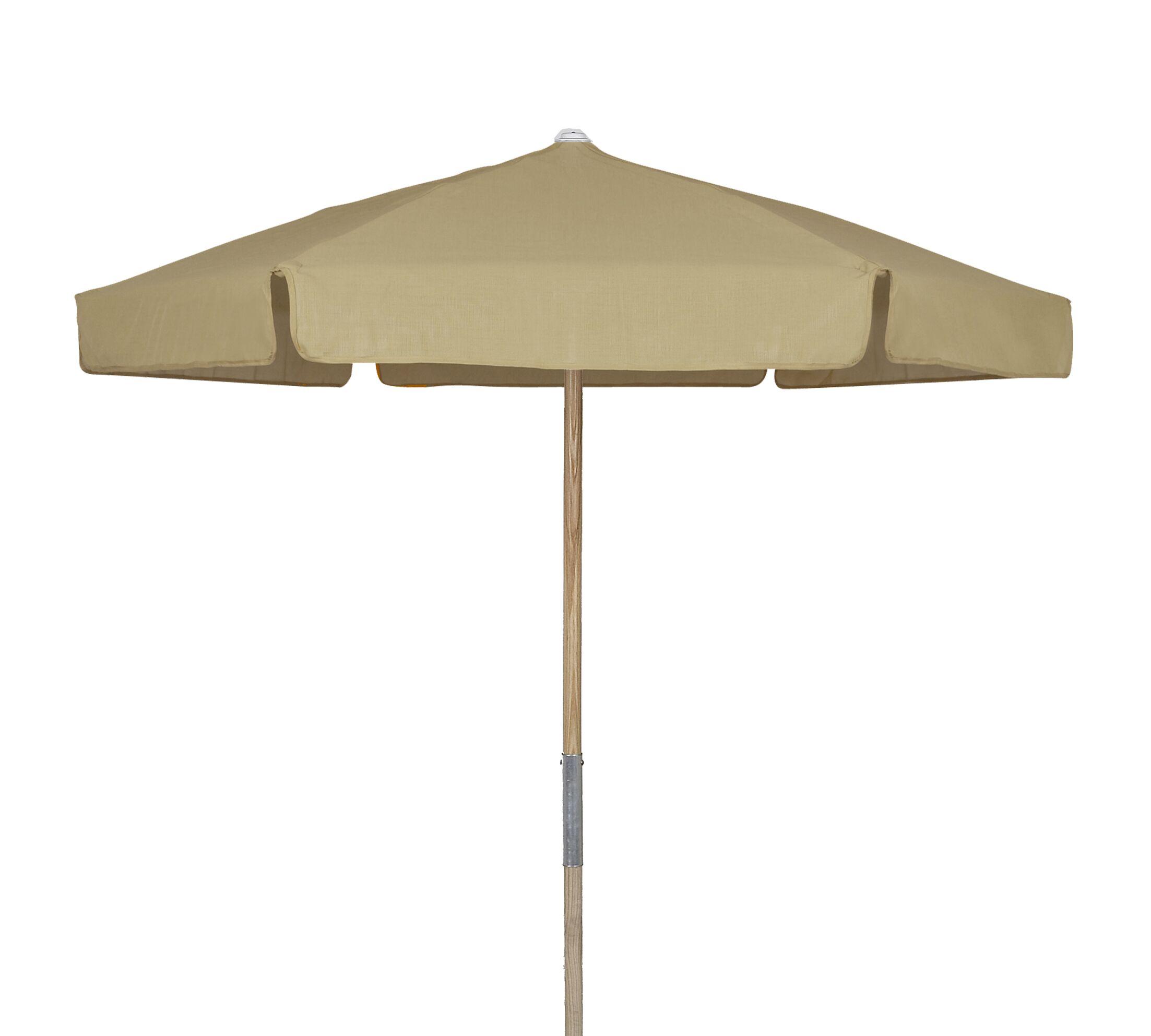 Market 7.5' Beach Umbrella Fabric: Beige