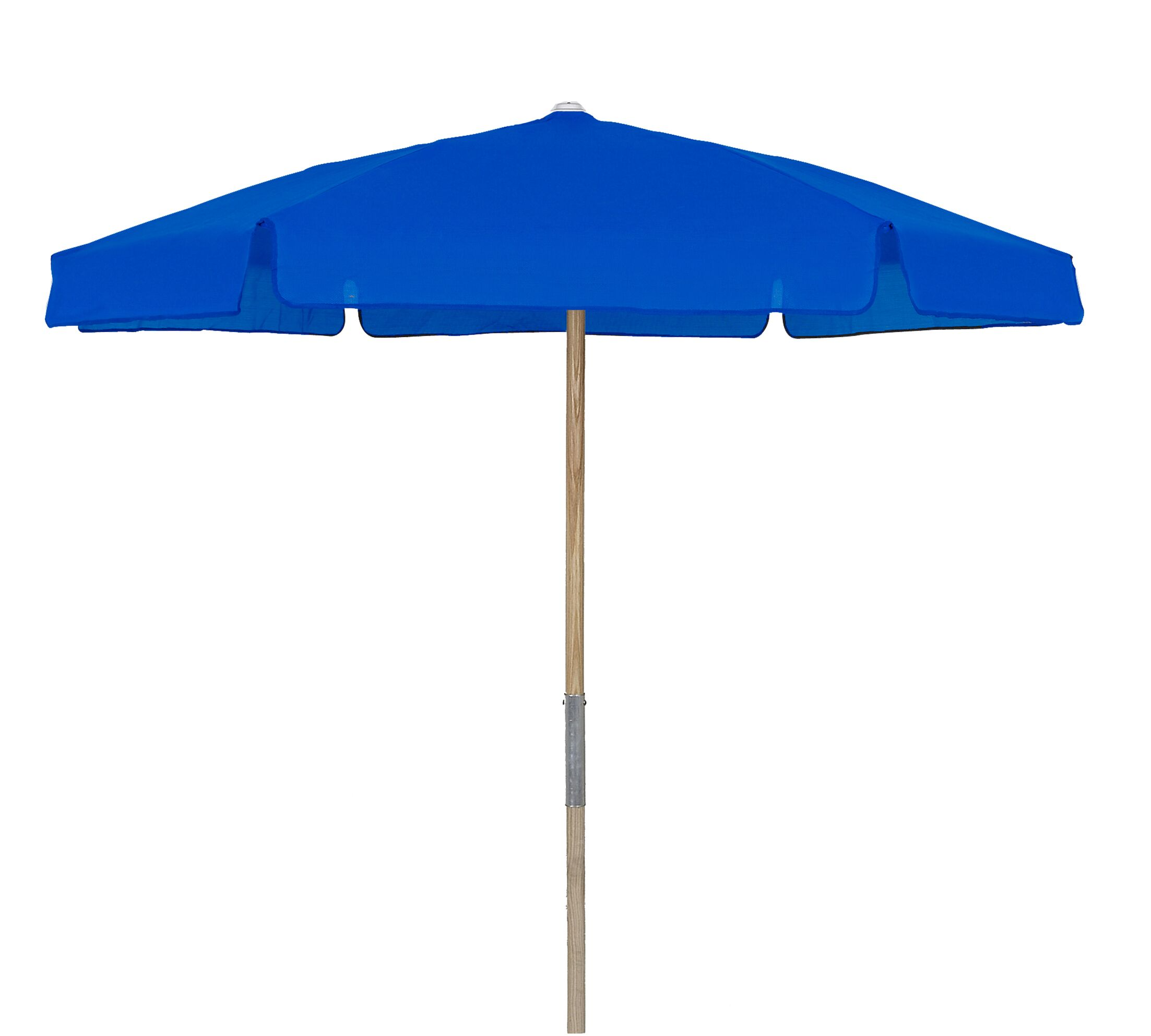 Market 7.5' Beach Umbrella Fabric: Pacific Blue