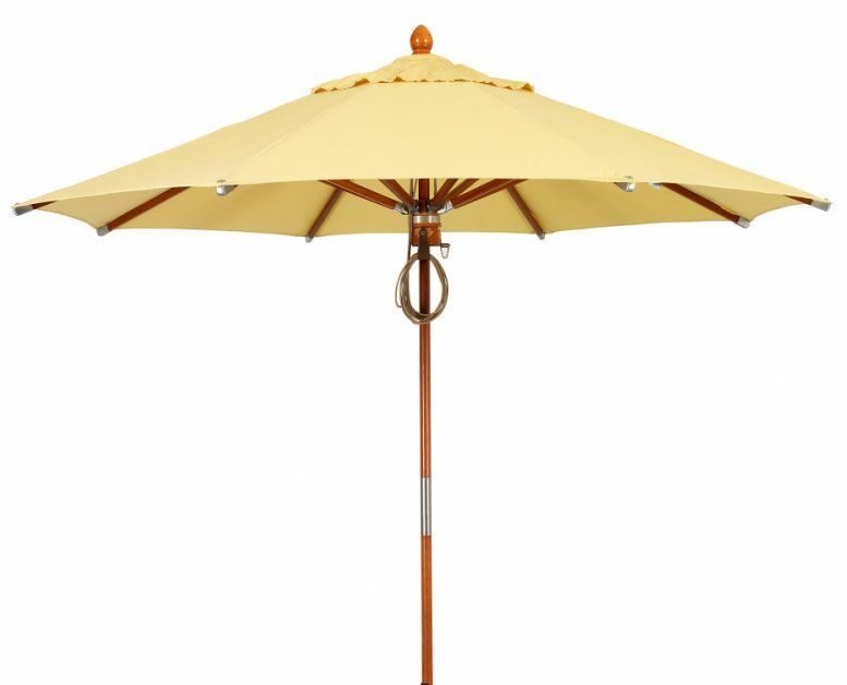 Prestige 11' Market Umbrella Fabric: Tan