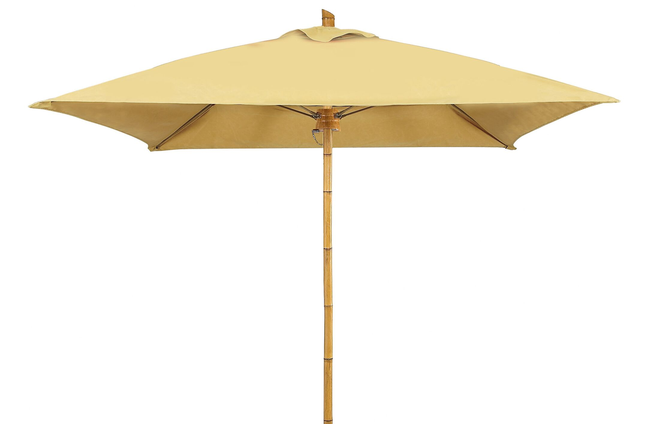 Prestige 7.5' Square Market Umbrella Fabric: Taupe