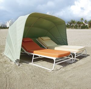Prestige Cabana 2 Person Tent Fabric: Pacific Blue