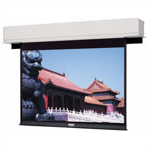 Advantage Deluxe Electrol Matte White Electric Projection Screen Viewing Area: 69