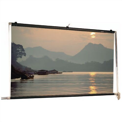 Scenic Roller Matte White Manual Projection Screen Viewing Area: 30' H x 30' W