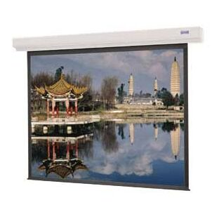 Designer Contour Electrol Matte White Electric Projection Screen Viewing Area: 84