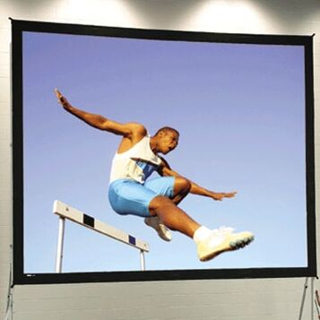 Fast Fold Portable Projection Screen Viewing Area: 13'6