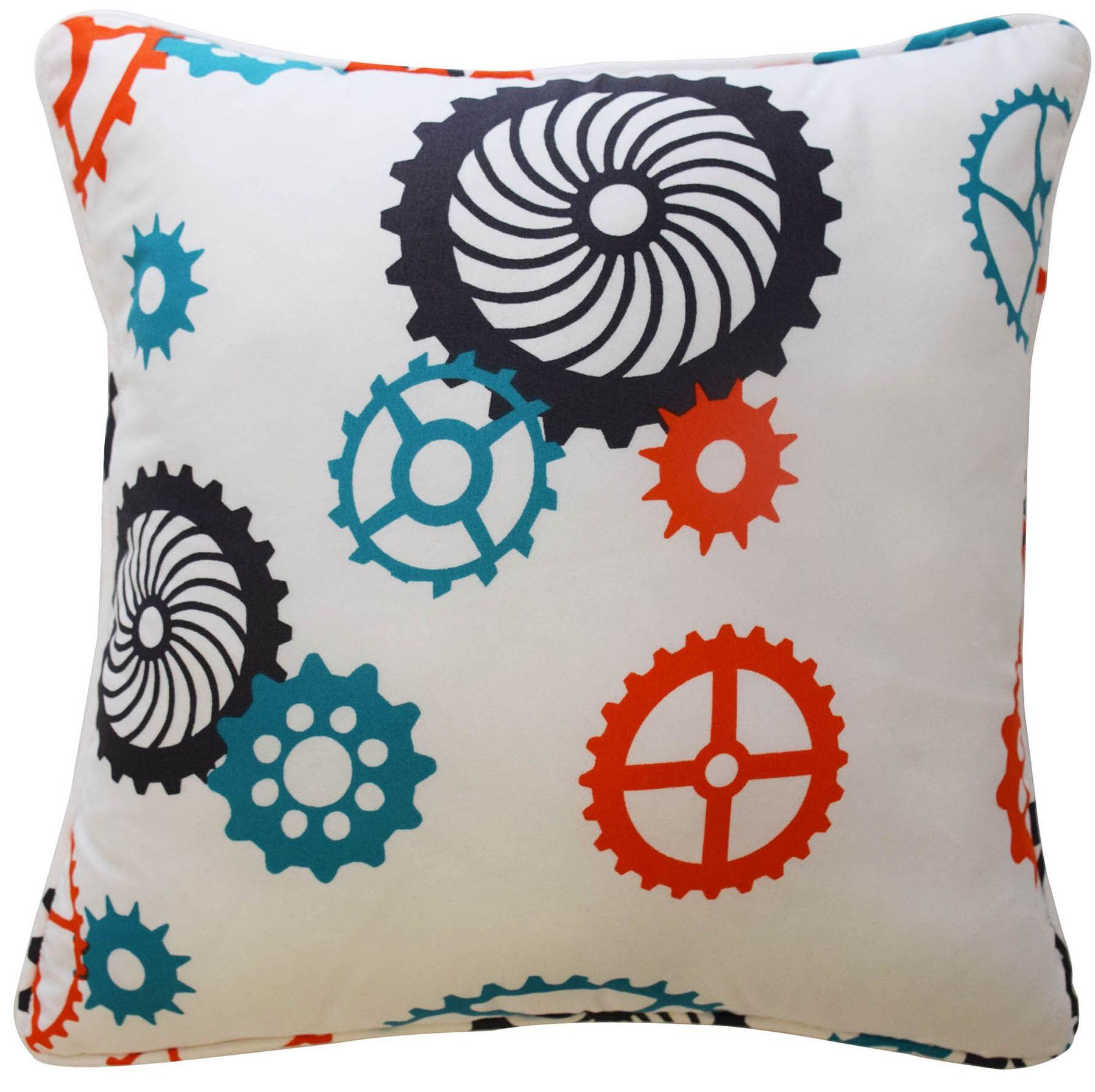 Robotic Polyester Throw Pillow
