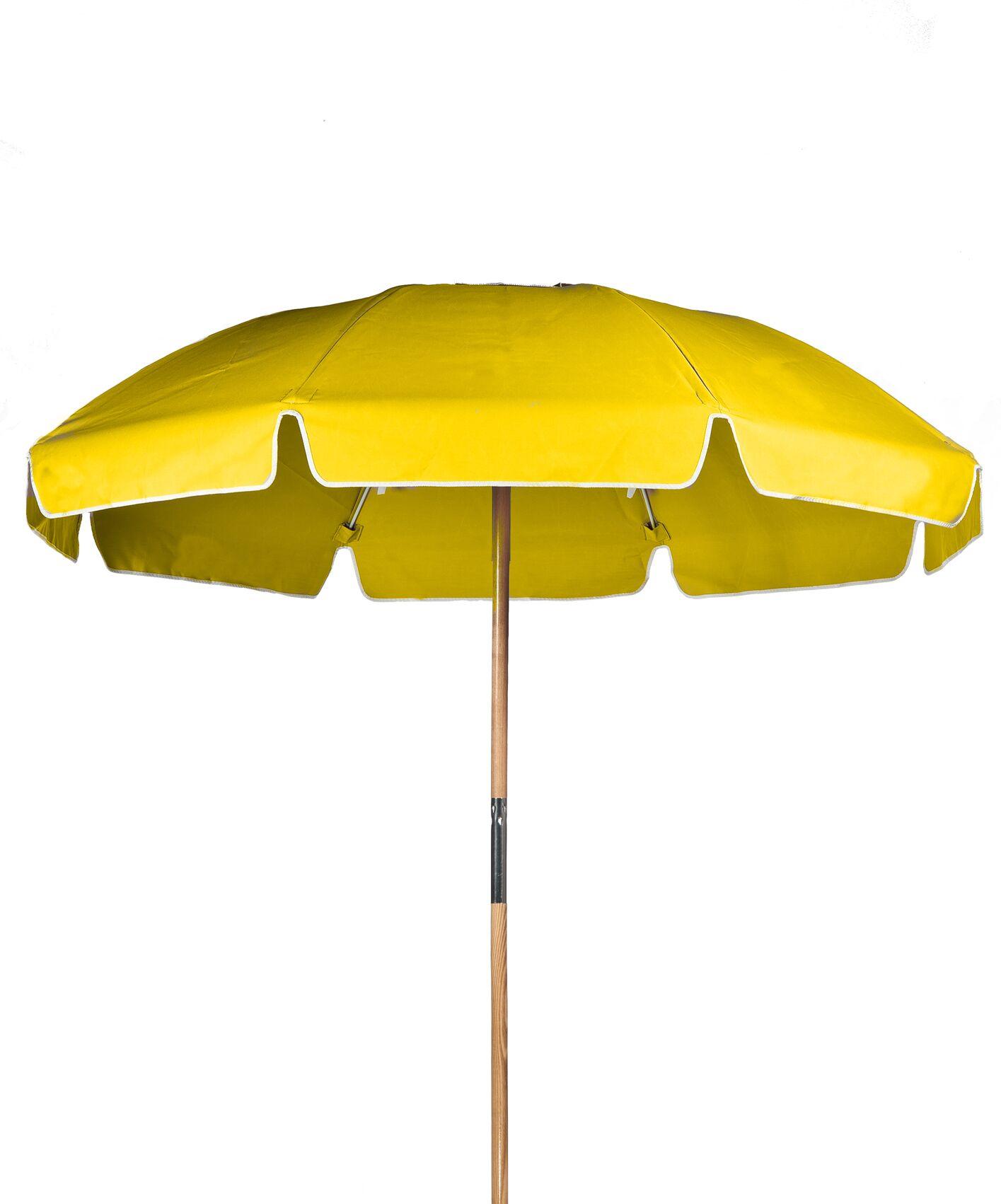 7.5' Drape Umbrella Fabric: Yellow Acrylic
