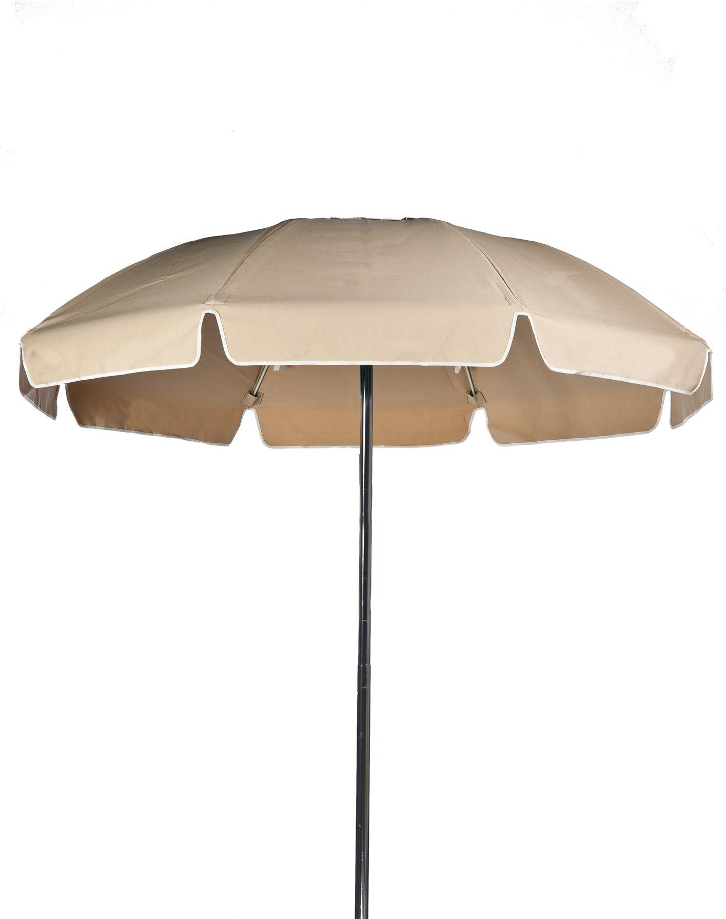 7.5' Drape Umbrella Color: Toast, Vent: Yes
