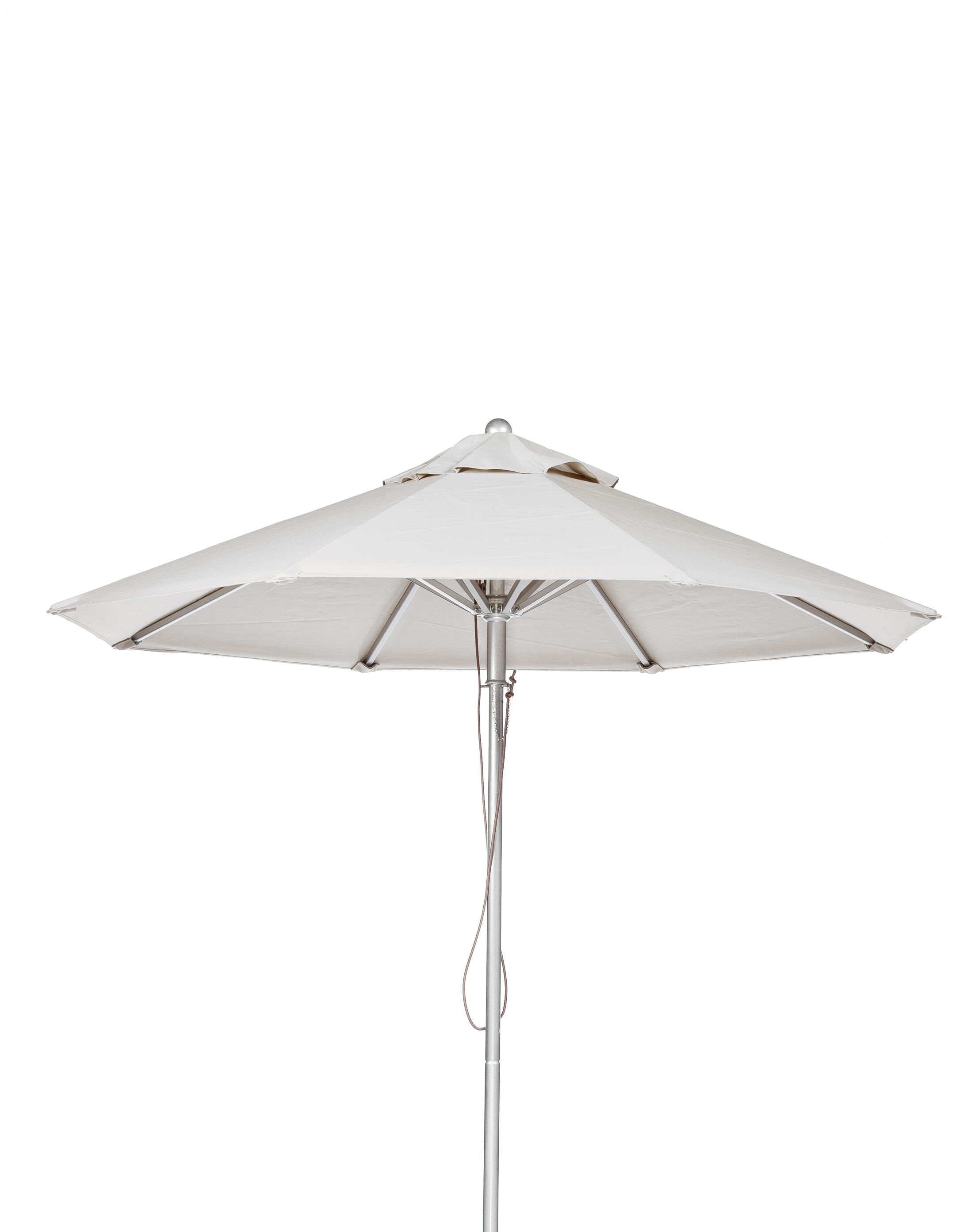 11' Market Umbrella Fabric: White