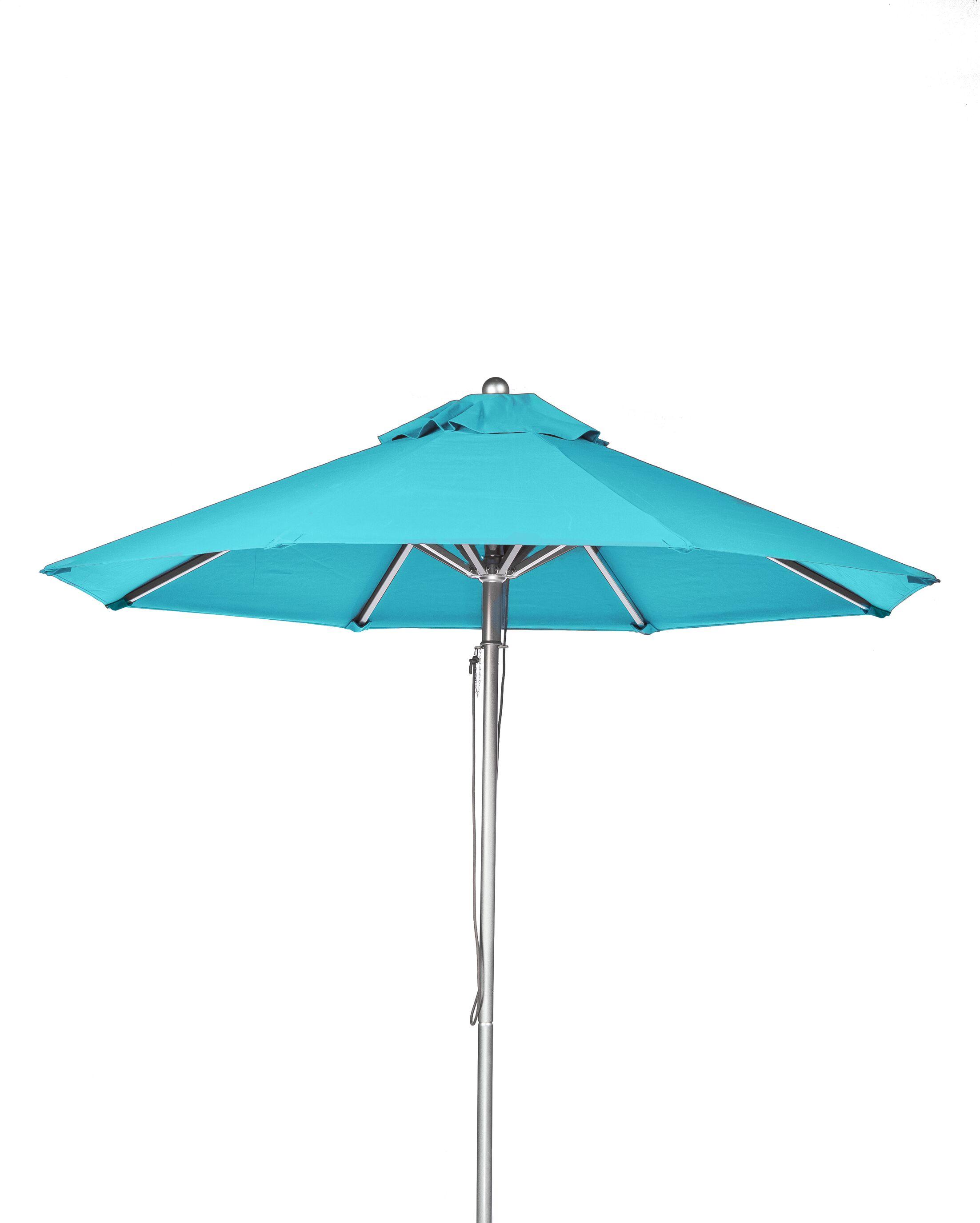 11' Market Umbrella Fabric: Turquoise