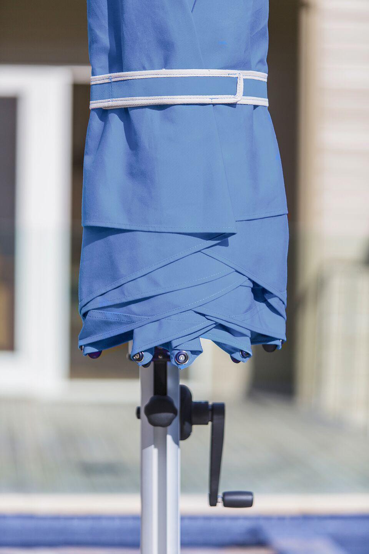 Aurora 9' Square Cantilever Umbrella Color: Capri