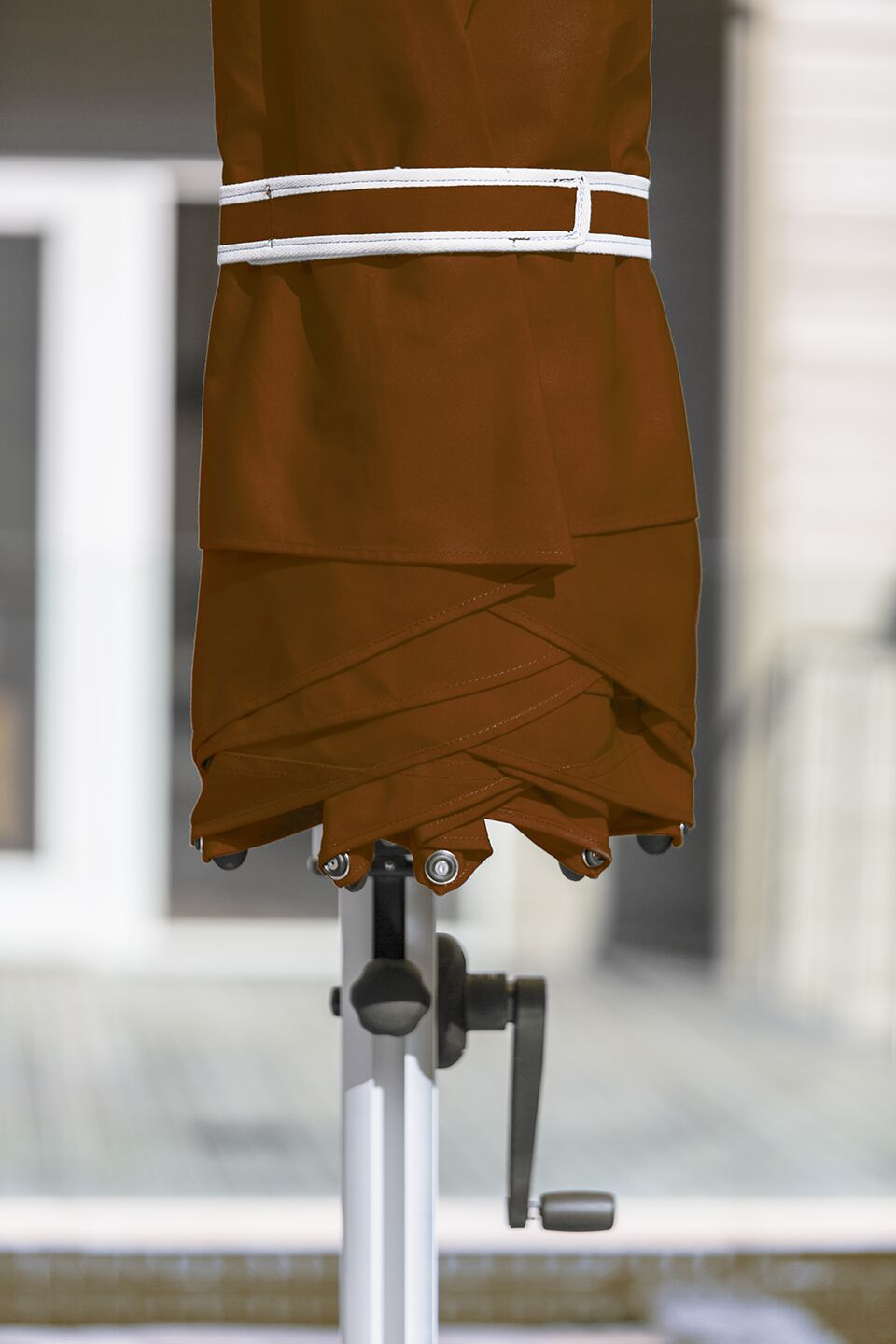 Aurora 11' Cantilever Umbrella Color: Terracotta