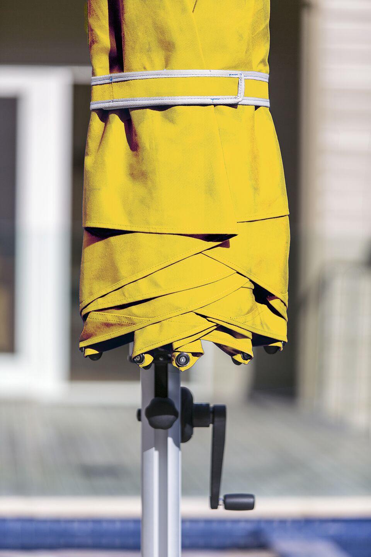Aurora 11' Cantilever Umbrella Color: Sunflower Yellow