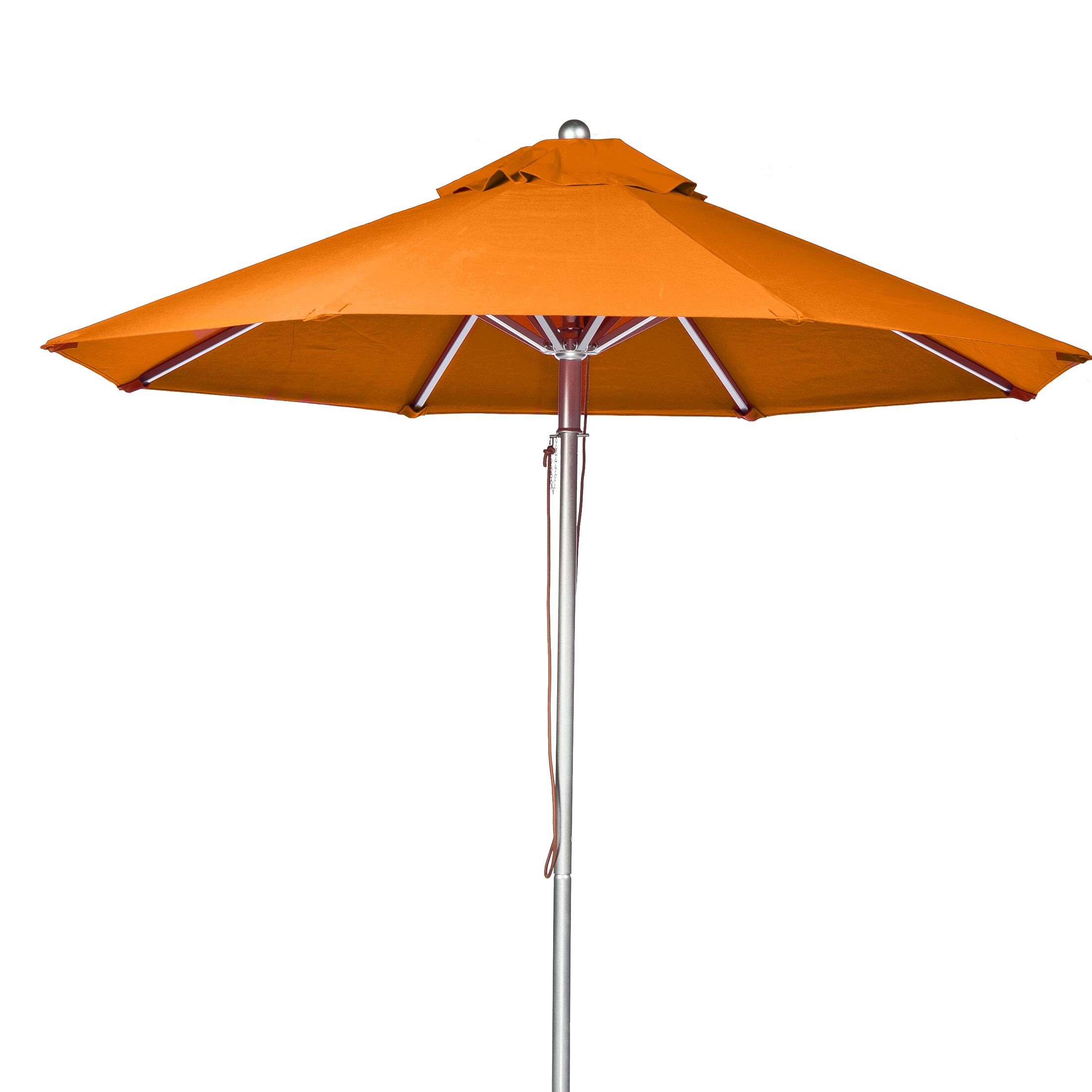 7.5' Market Umbrella Fabric: Orange