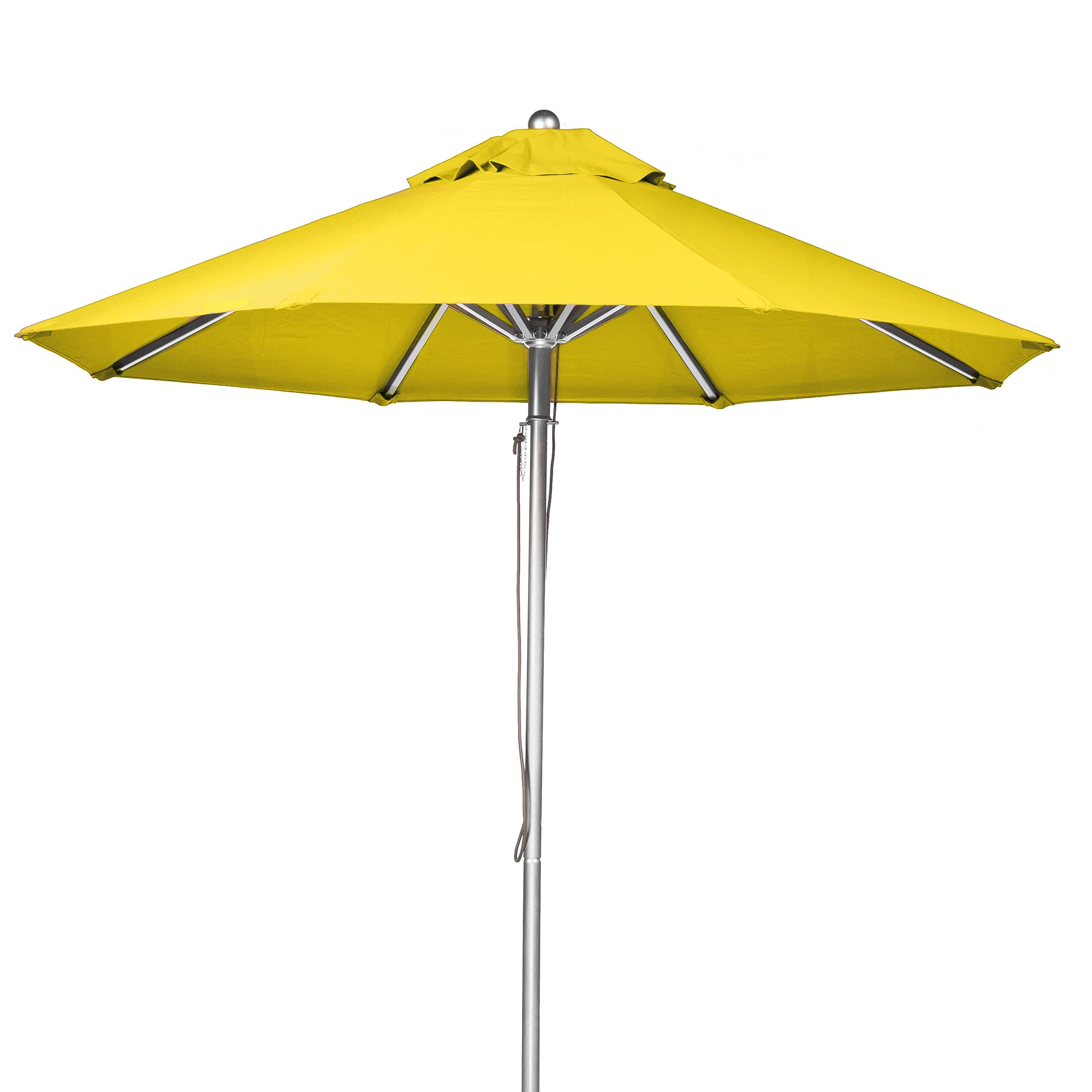 7.5' Market Umbrella Fabric: Yellow