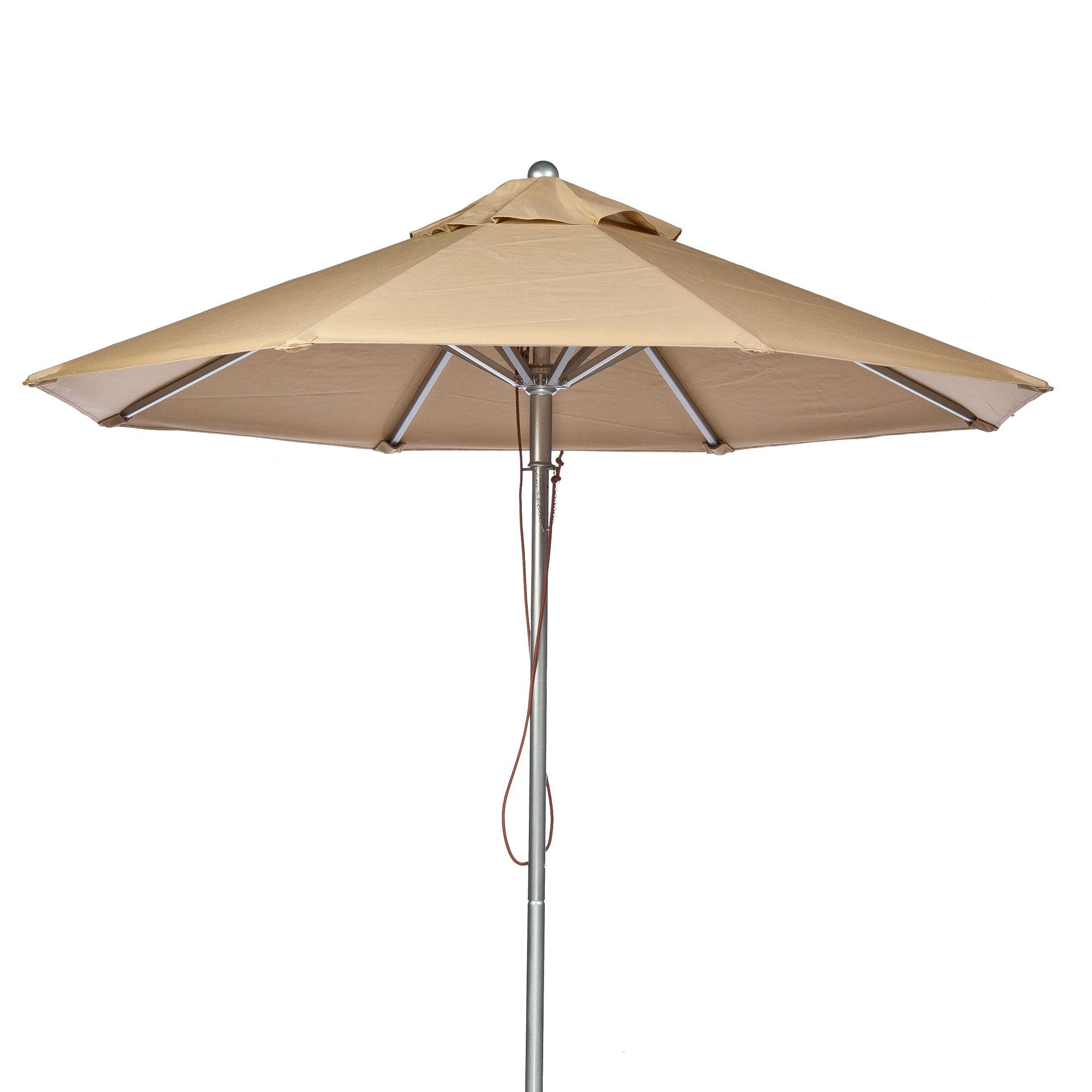 7.5' Market Umbrella Fabric: Toast